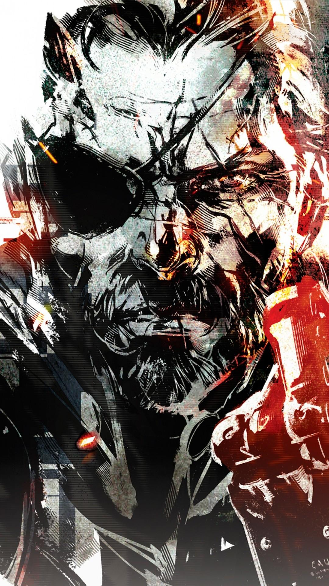 Wallpaper metal gear solid v, the phantom pain, art