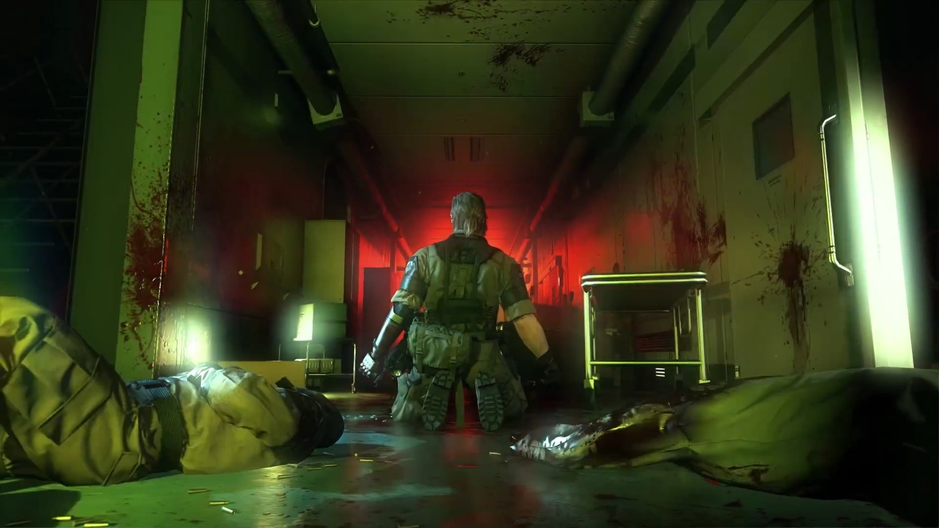 Metal Gear Solid V: The Phantom Pain's E3 trailer is as barmy as you'd hope