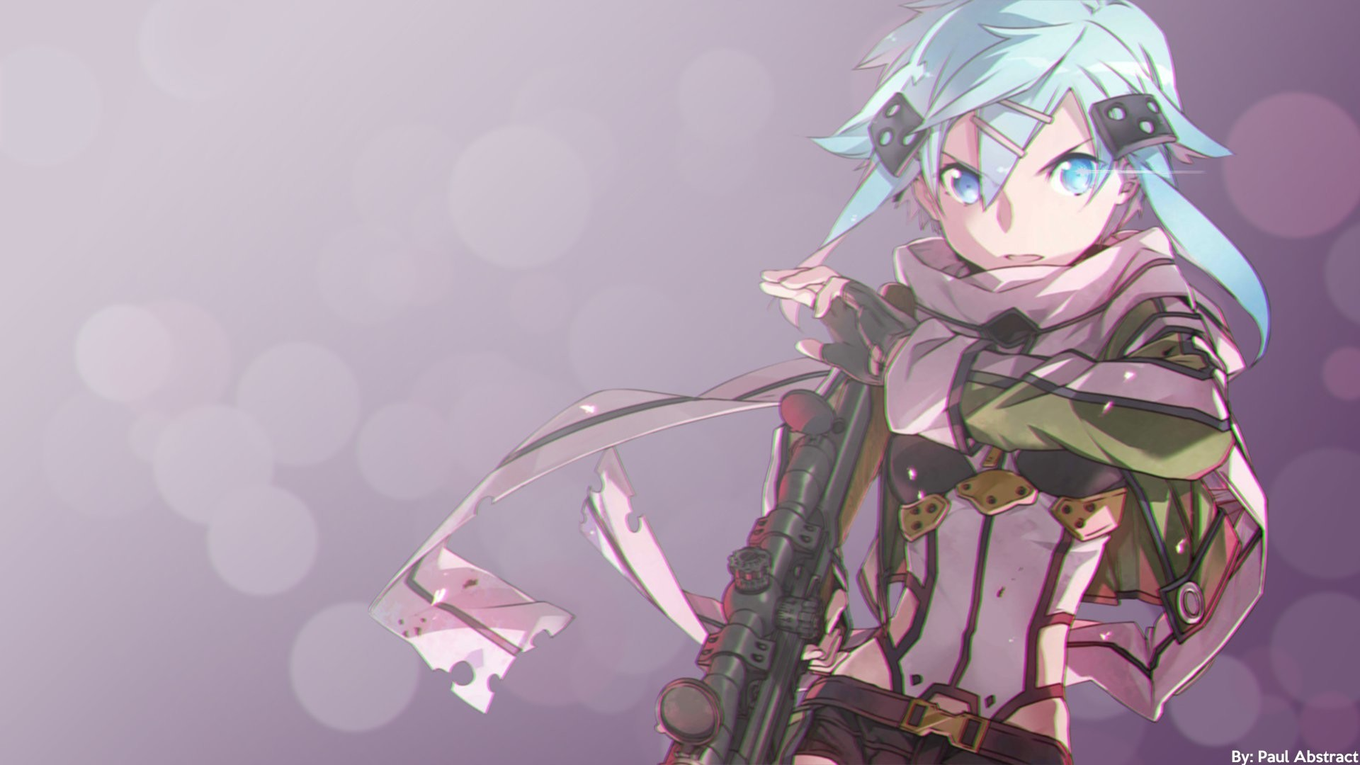 Anime Sword Art Online Ii Sinon Sword Art Online Wallpaper