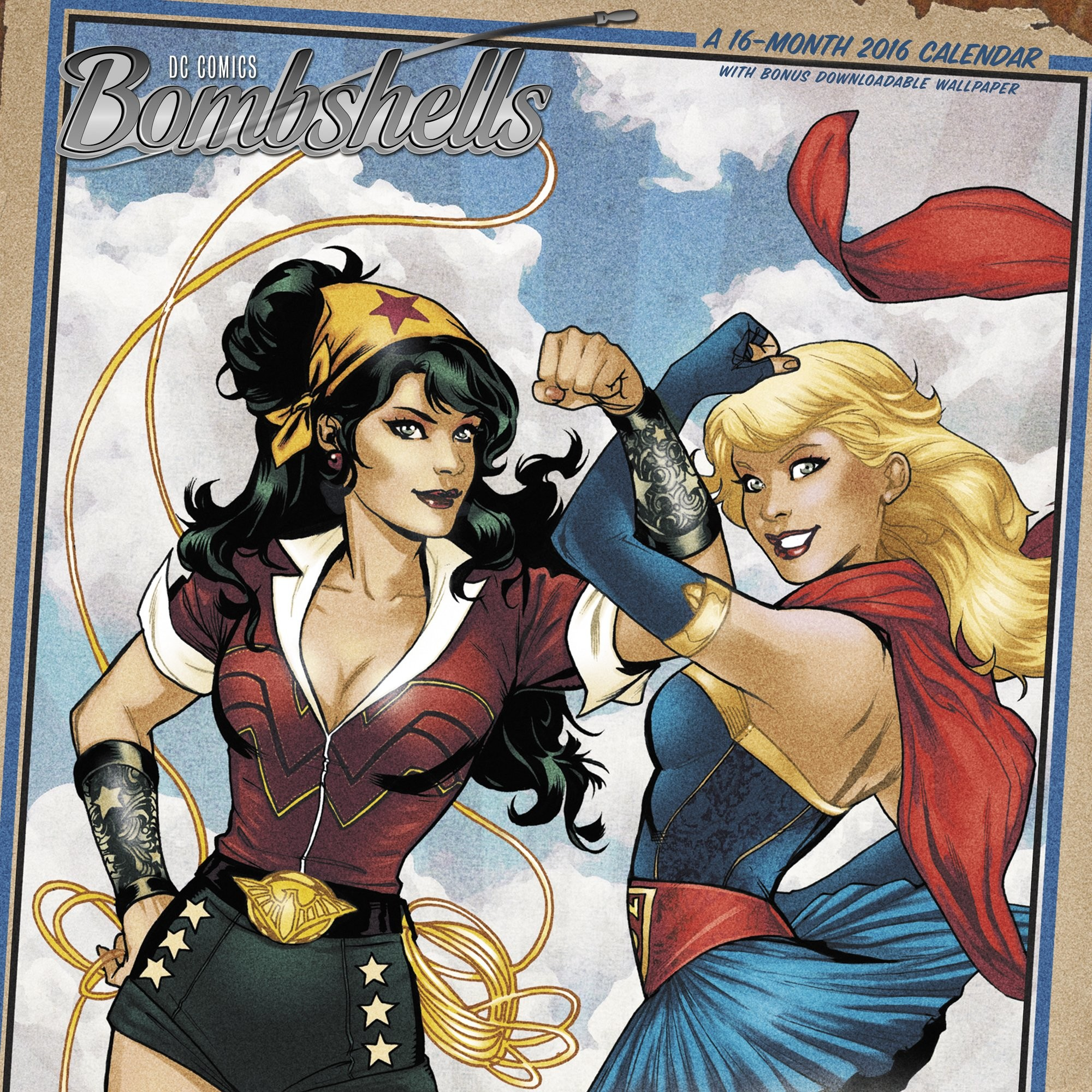 DC Bombshells 2016 Calendar: With Bonus Downloadable Wallpaper:  Amazon.co.uk: ACCO Brands: 9781629053288: Books
