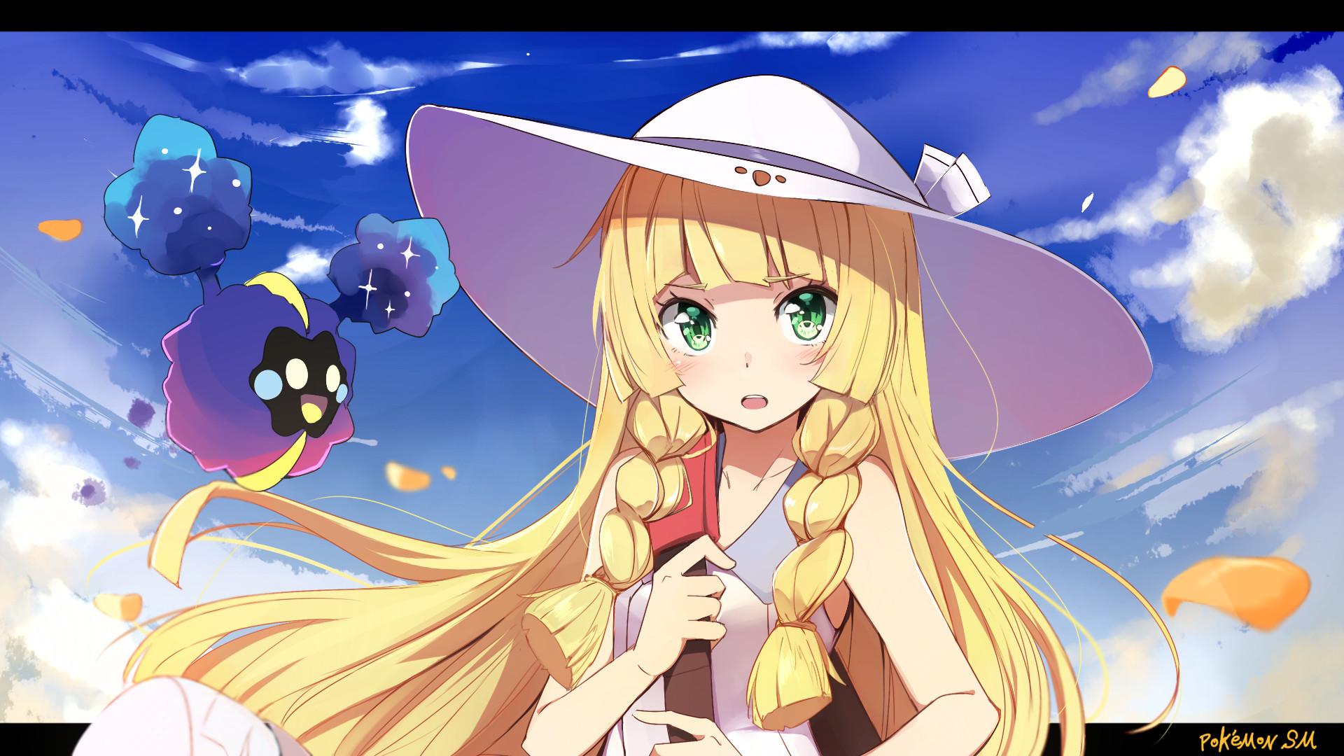 Video Game Pokémon Sun And Moon Lillie (Pokemon) Cosmog (Pokémon) Wallpaper
