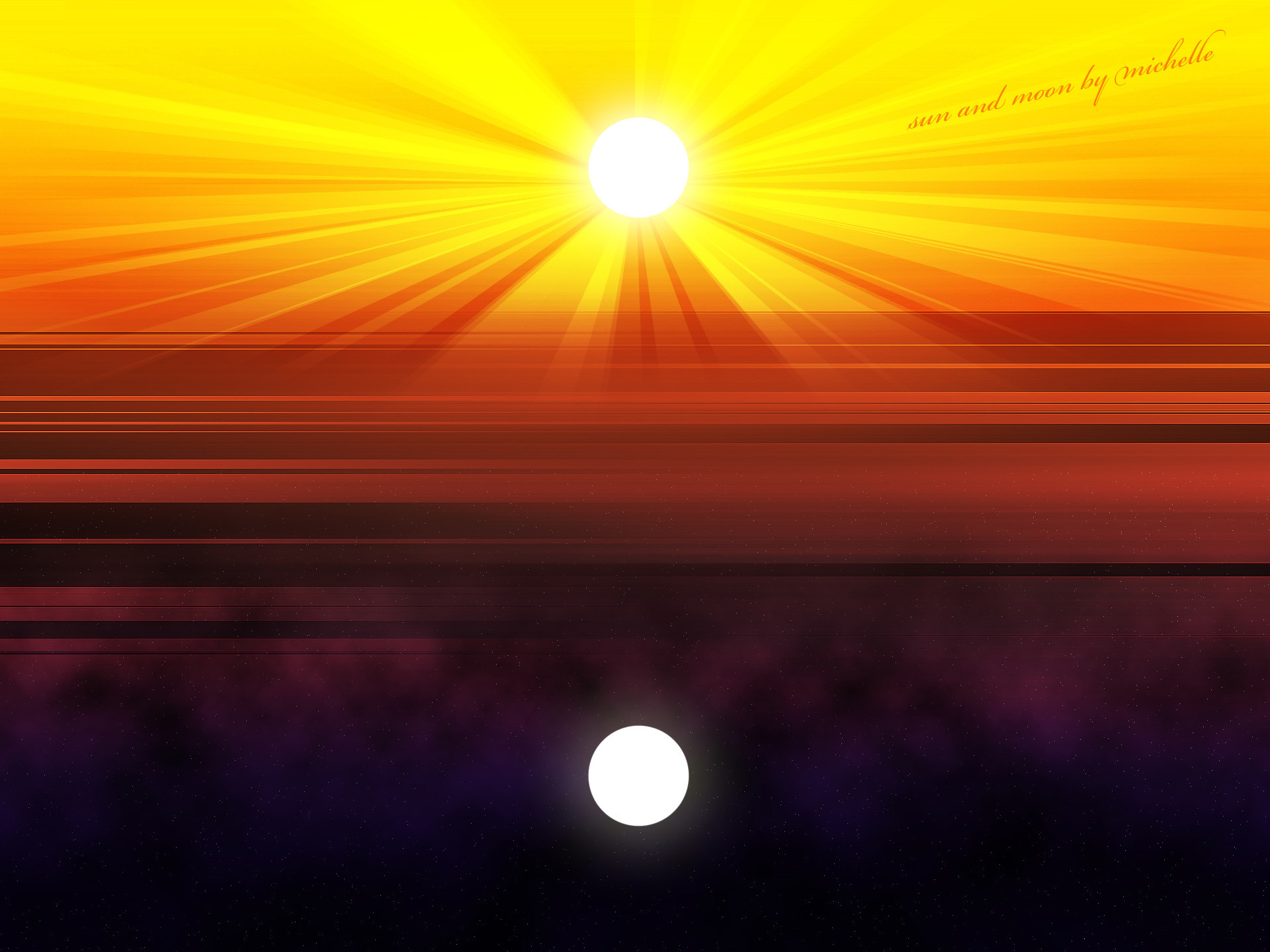 Sun Moon Background by hearttaco on DeviantArt
