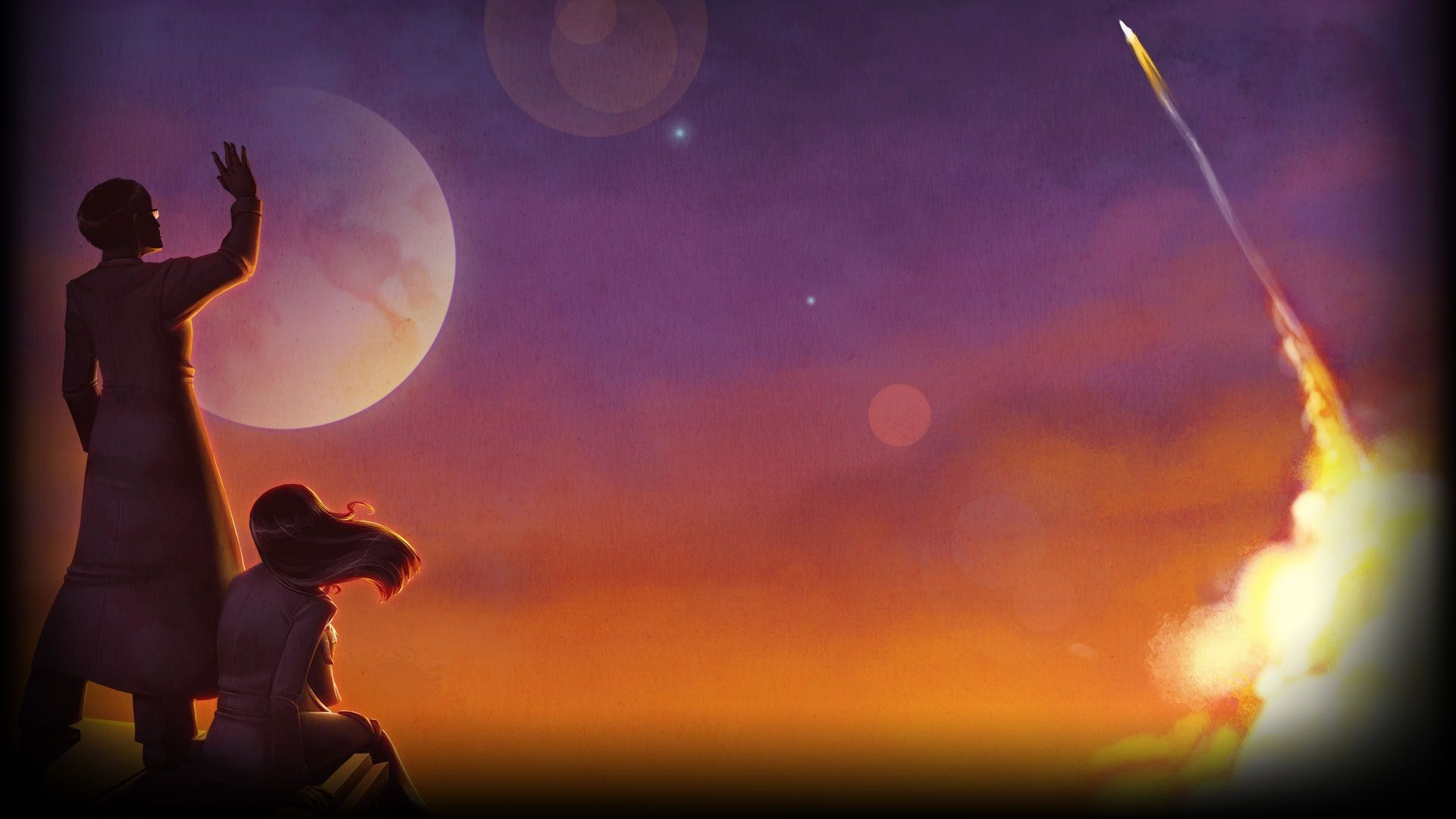 1 To The Moon HD Wallpapers