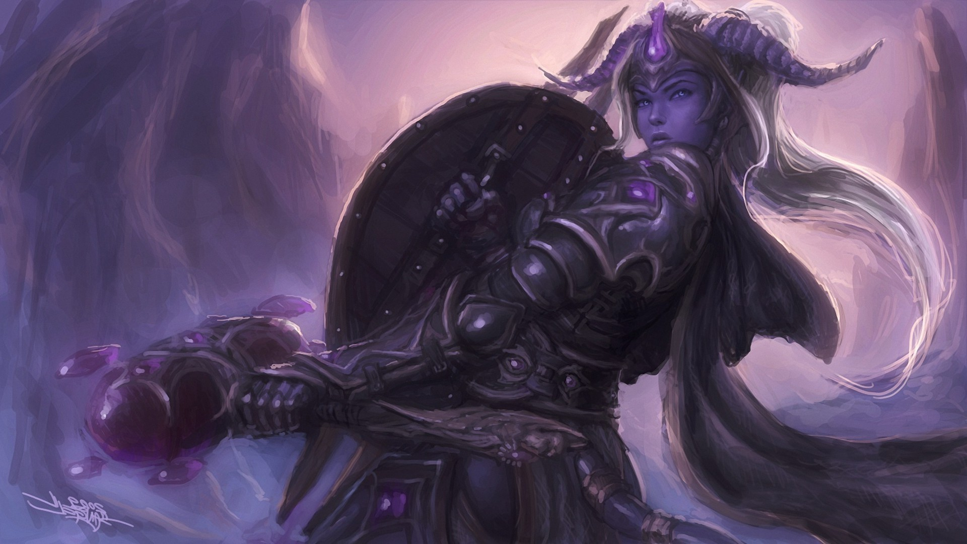 Paladin, Horns, World Of Warcraft, Draenei Wallpapers HD / Desktop and  Mobile Backgrounds