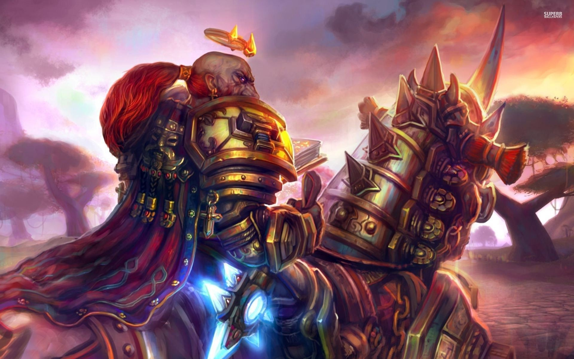 World Of Warcraft Female Characters – wallpaper.