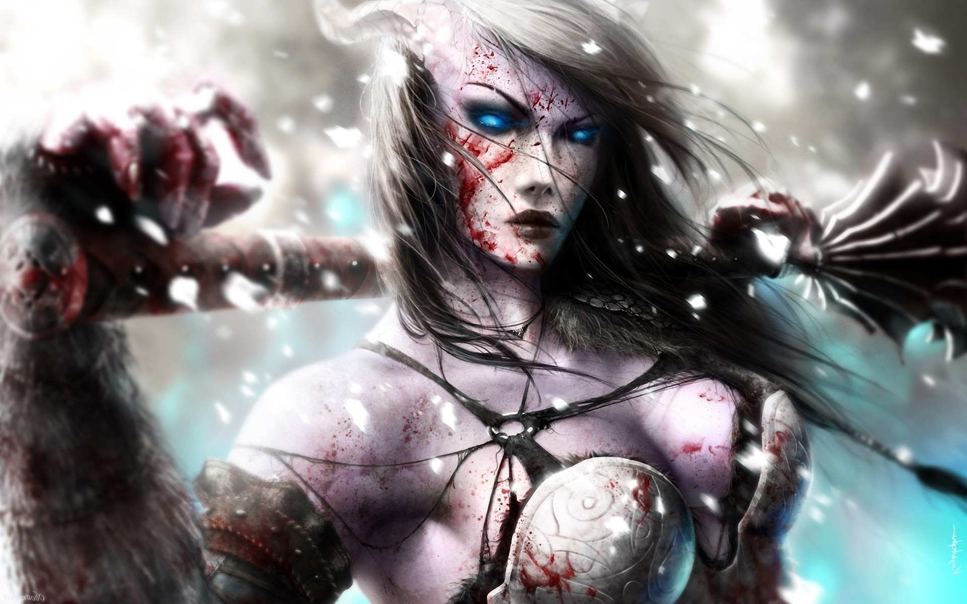 women, Fantasy Art, World Of Warcraft, Draenei Wallpapers HD / Desktop and  Mobile Backgrounds