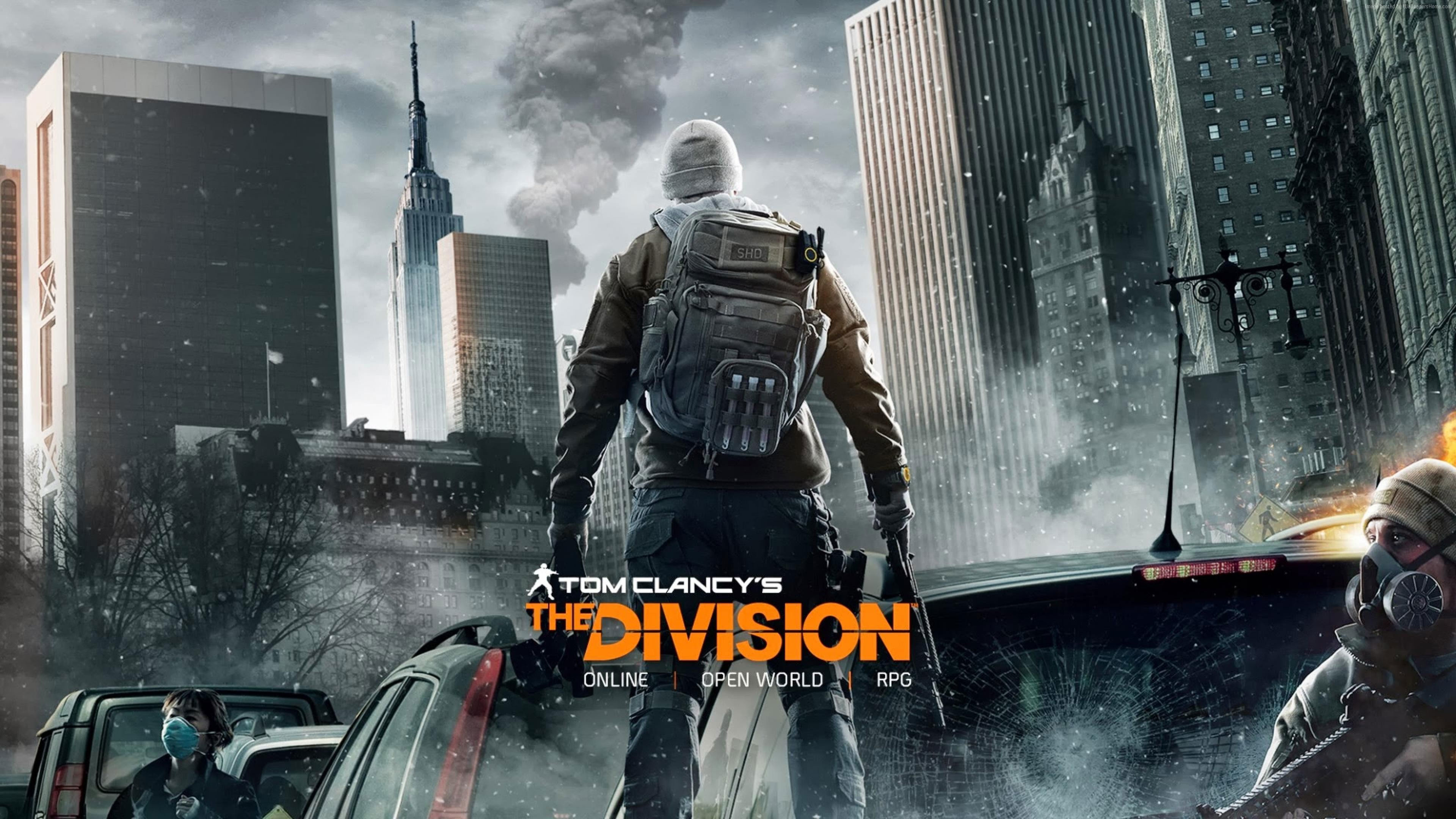 The Division 4K Wallpaper …