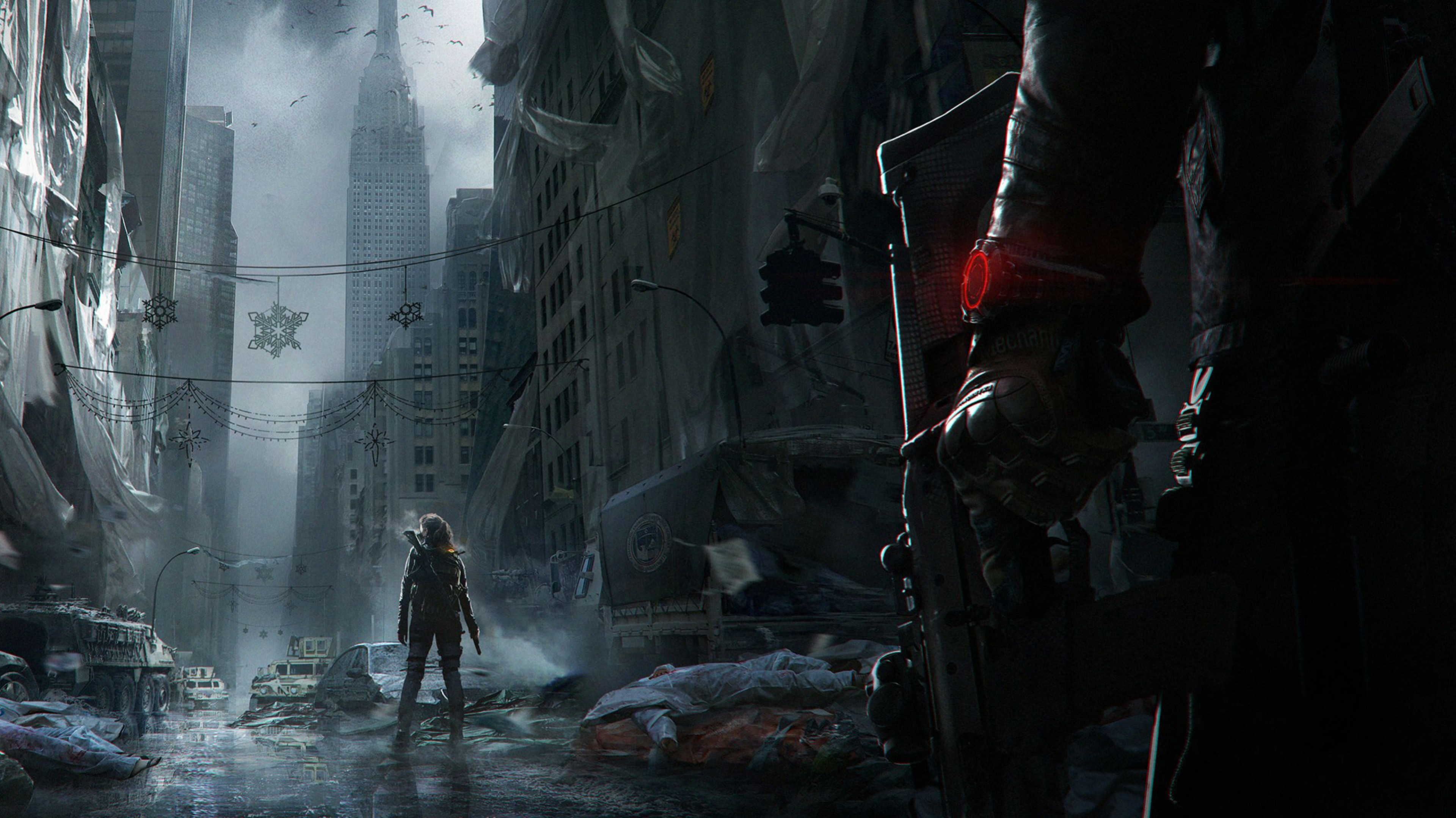 Preview wallpaper tom clancy, the division, ubisoft entertainment 3840×2160