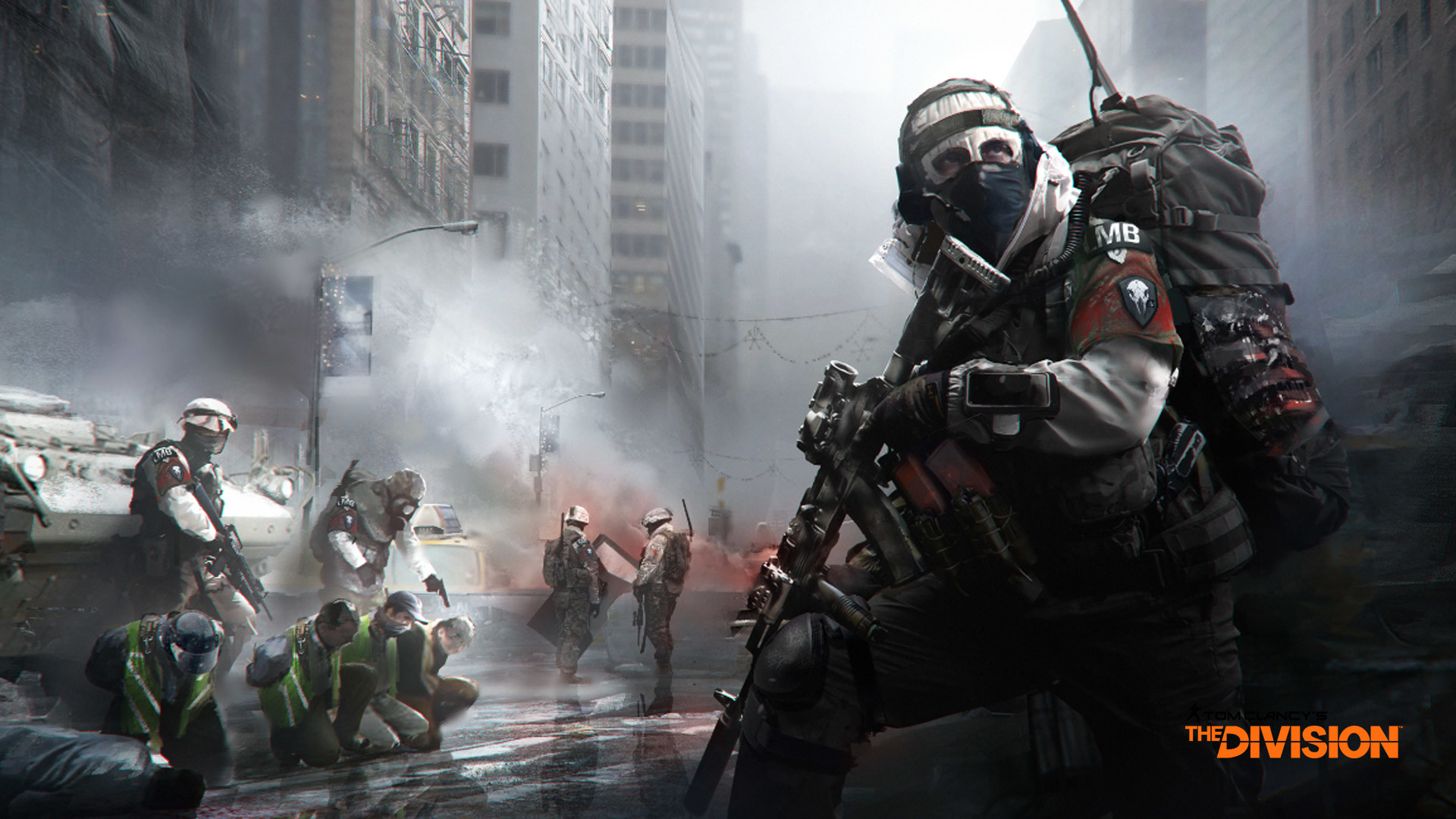 Free The Division Wallpaper in 1920×1080