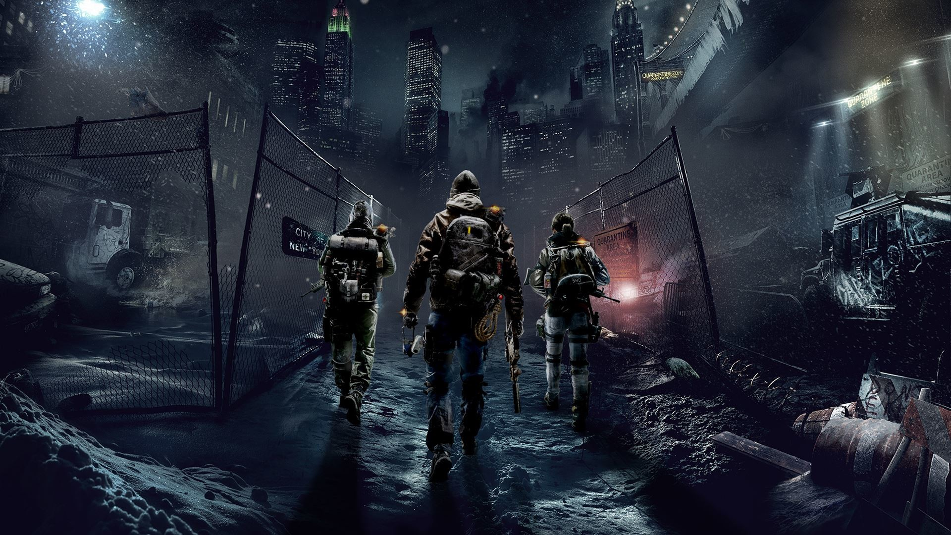 The Division Game Wallpaper