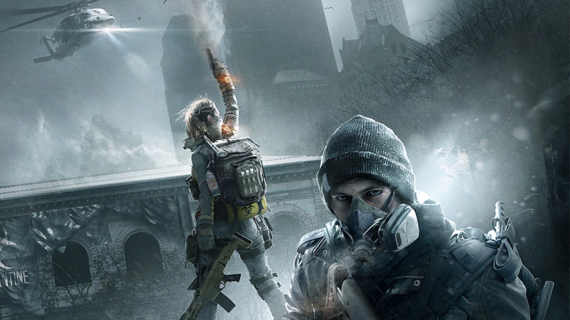 Computerspiele – Tom Clancy's The Division Wallpaper