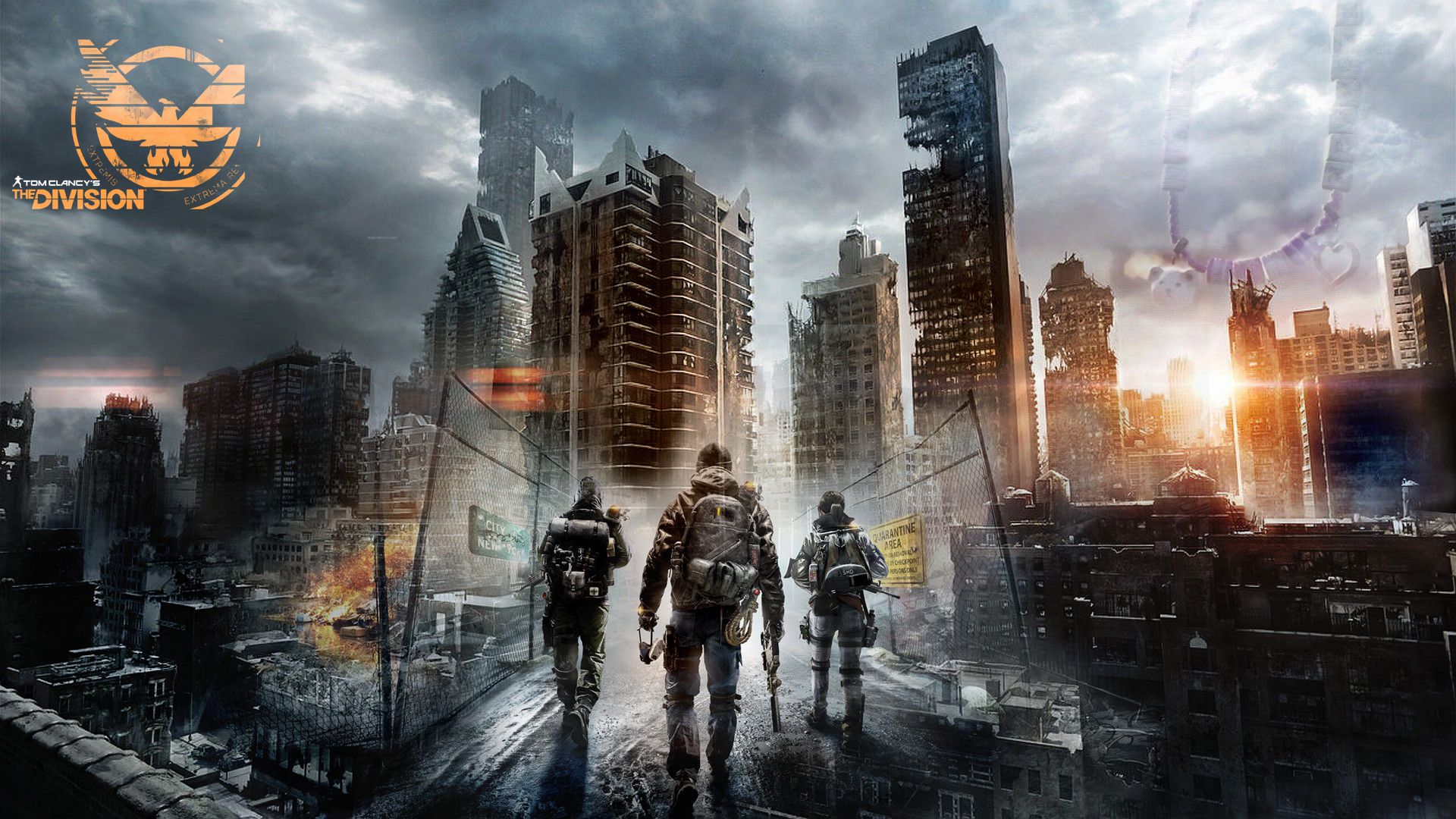 The Division Wallpaper by Germanwallpaper The Division Wallpaper by  Germanwallpaper