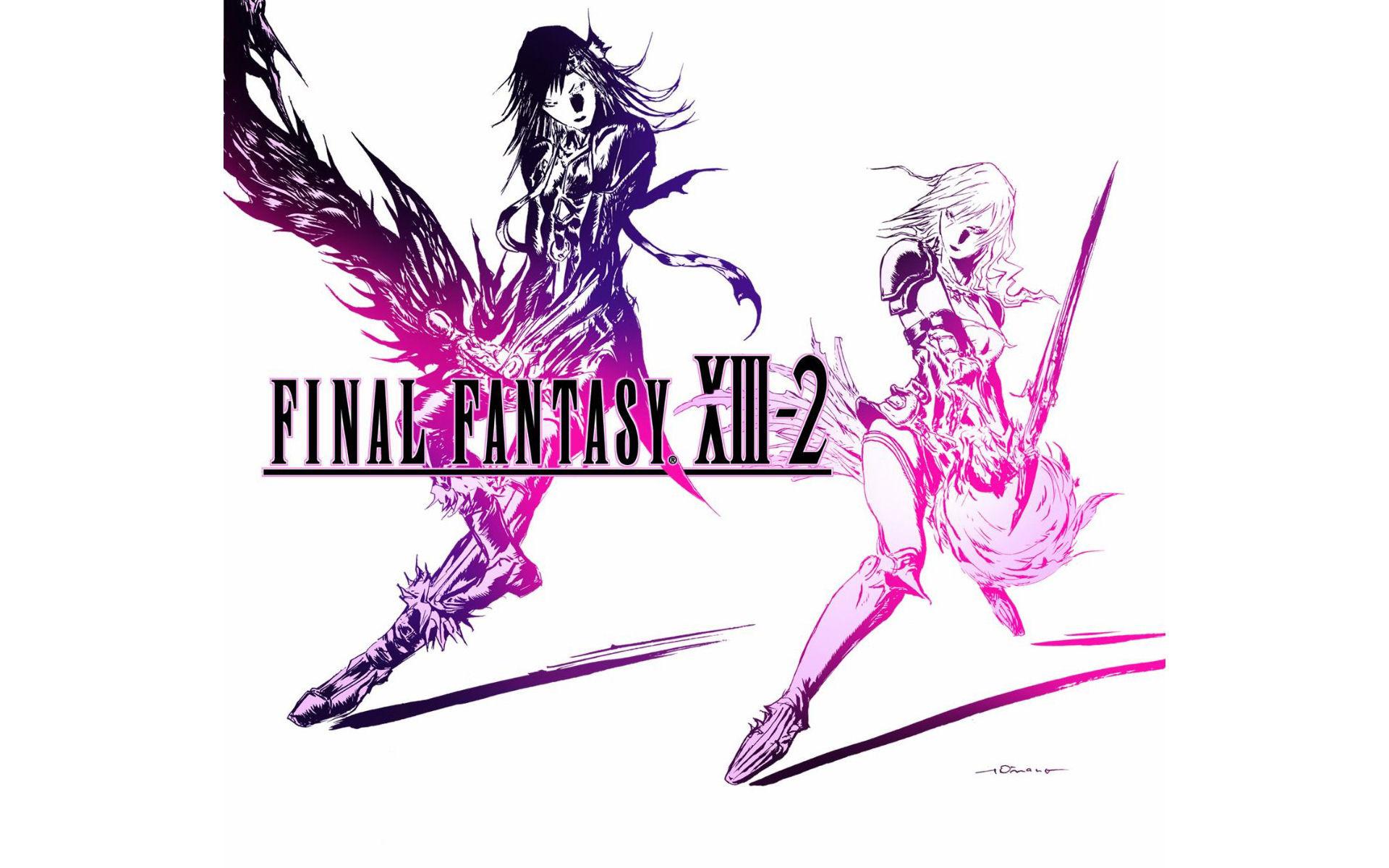 … final fantasy xiii 2 logo wallpaper 1 …