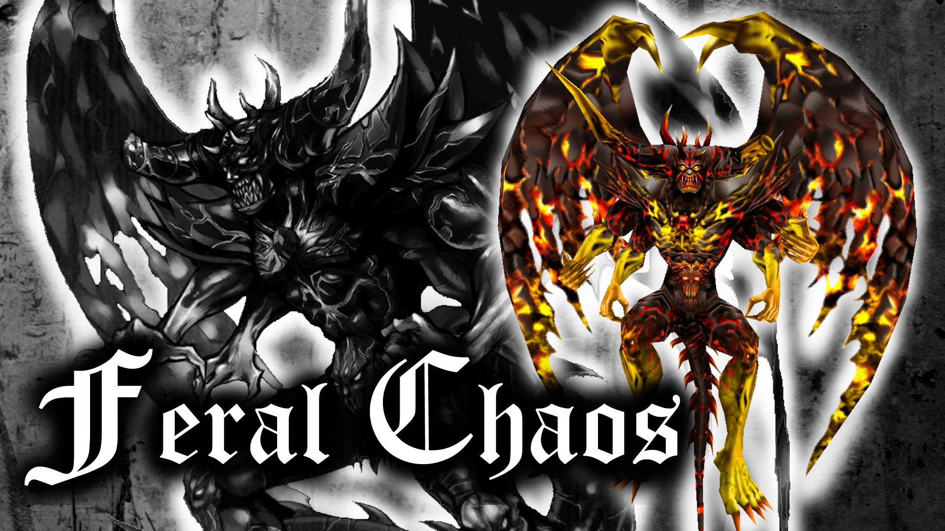 … Final Fantasy – Feral Chaos Wallpaper (Version 1) by RaileysXerilyas