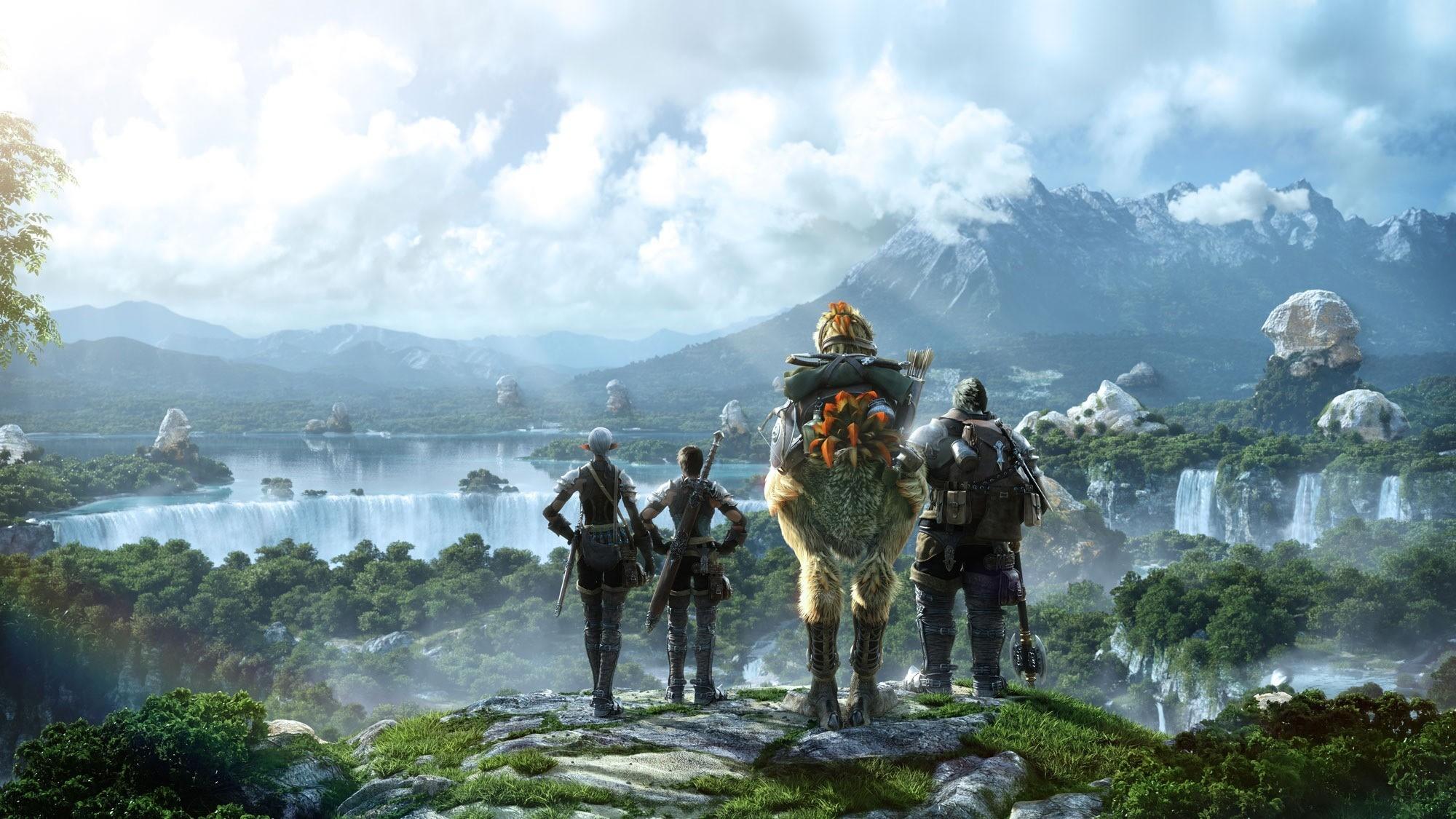 Final Fantasy XIV desktop wallpaper