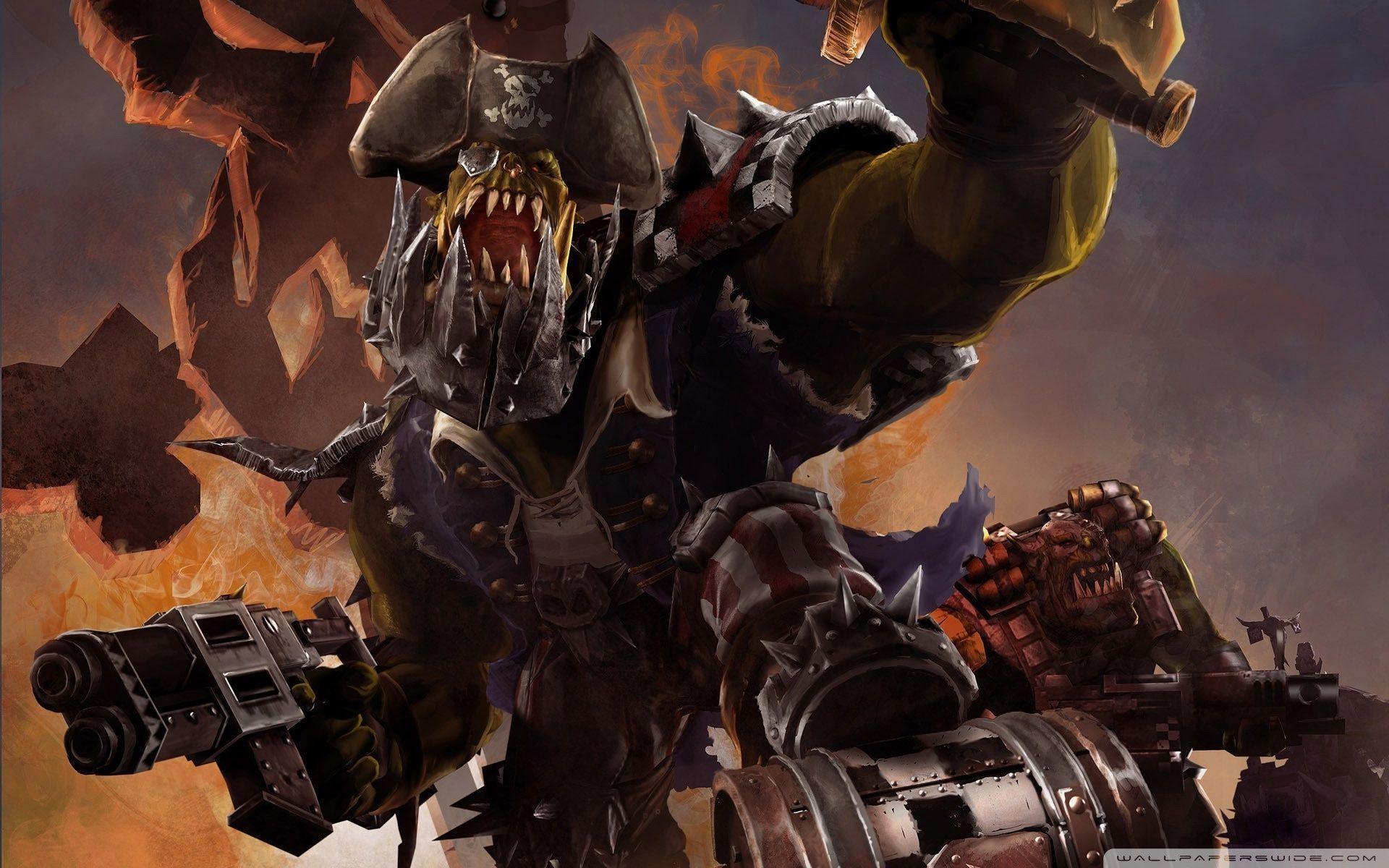 Images For > Warhammer 40k Orks Wallpaper