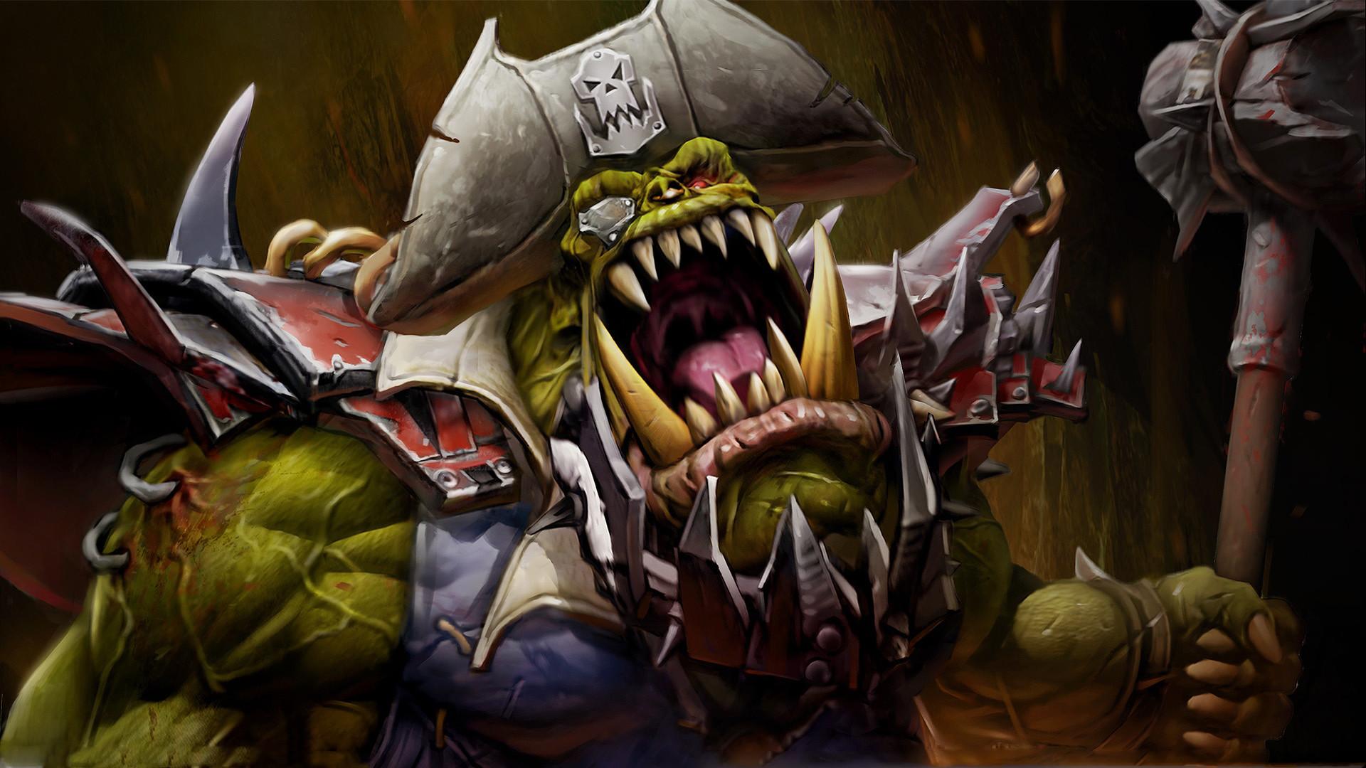 Warhammer 40k Orc Wallpaper