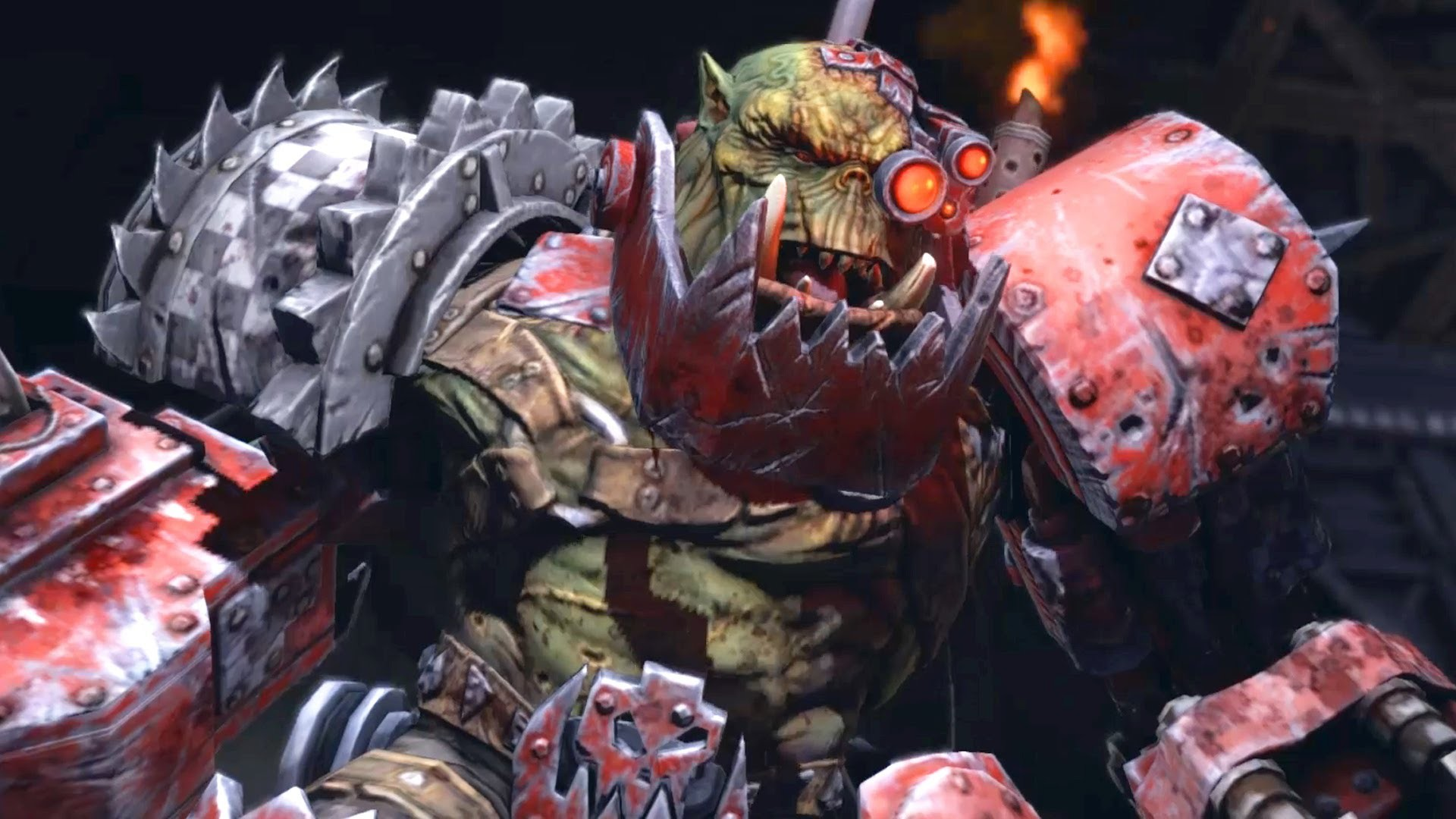 Ork Warboss Grimskull: Waaagh! on Graia Forge World (Warhammer 40k: Space  Marine) – YouTube
