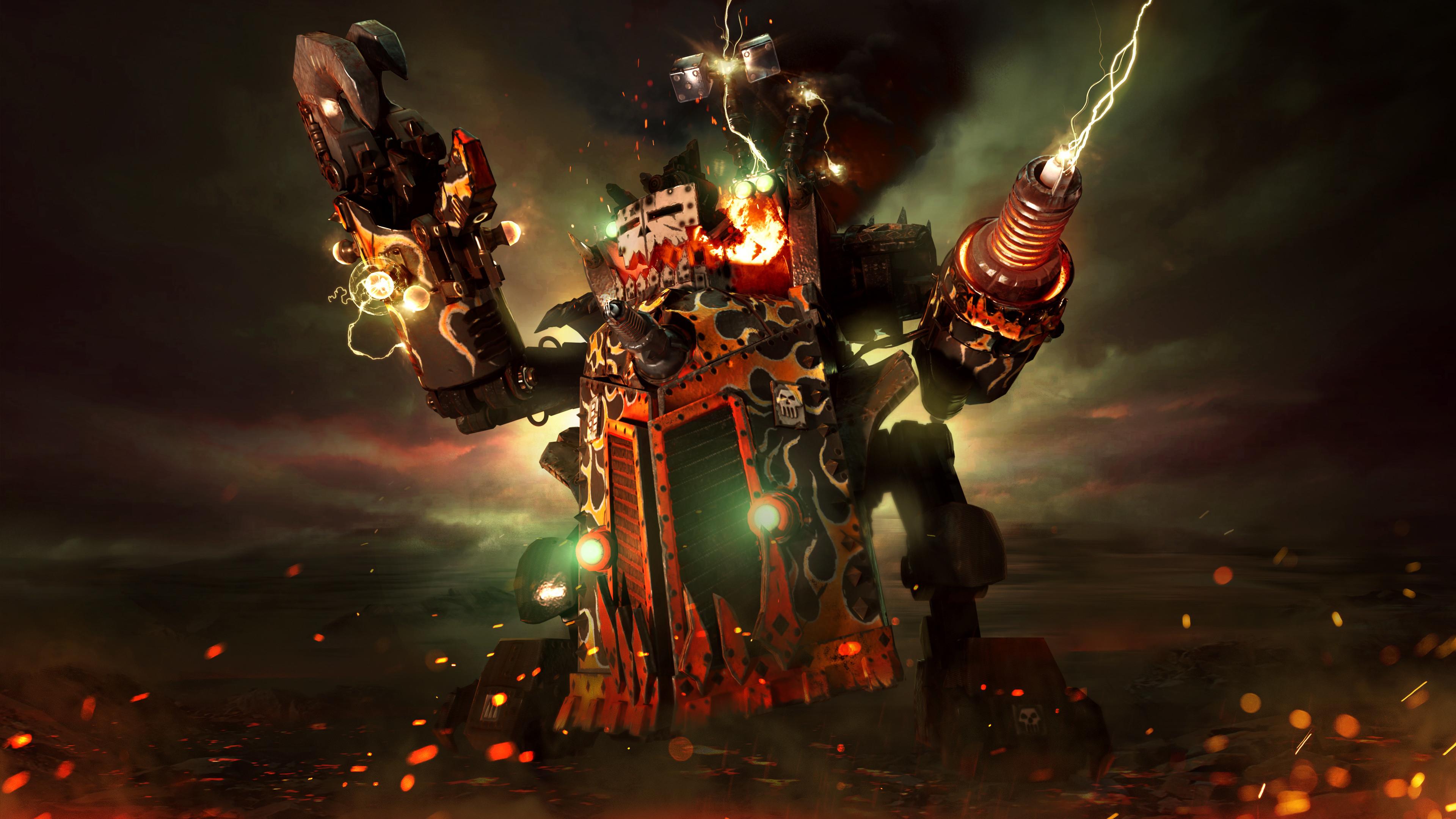 Warhammer 40K, Dawn of War III, Beauty da Morkanaut