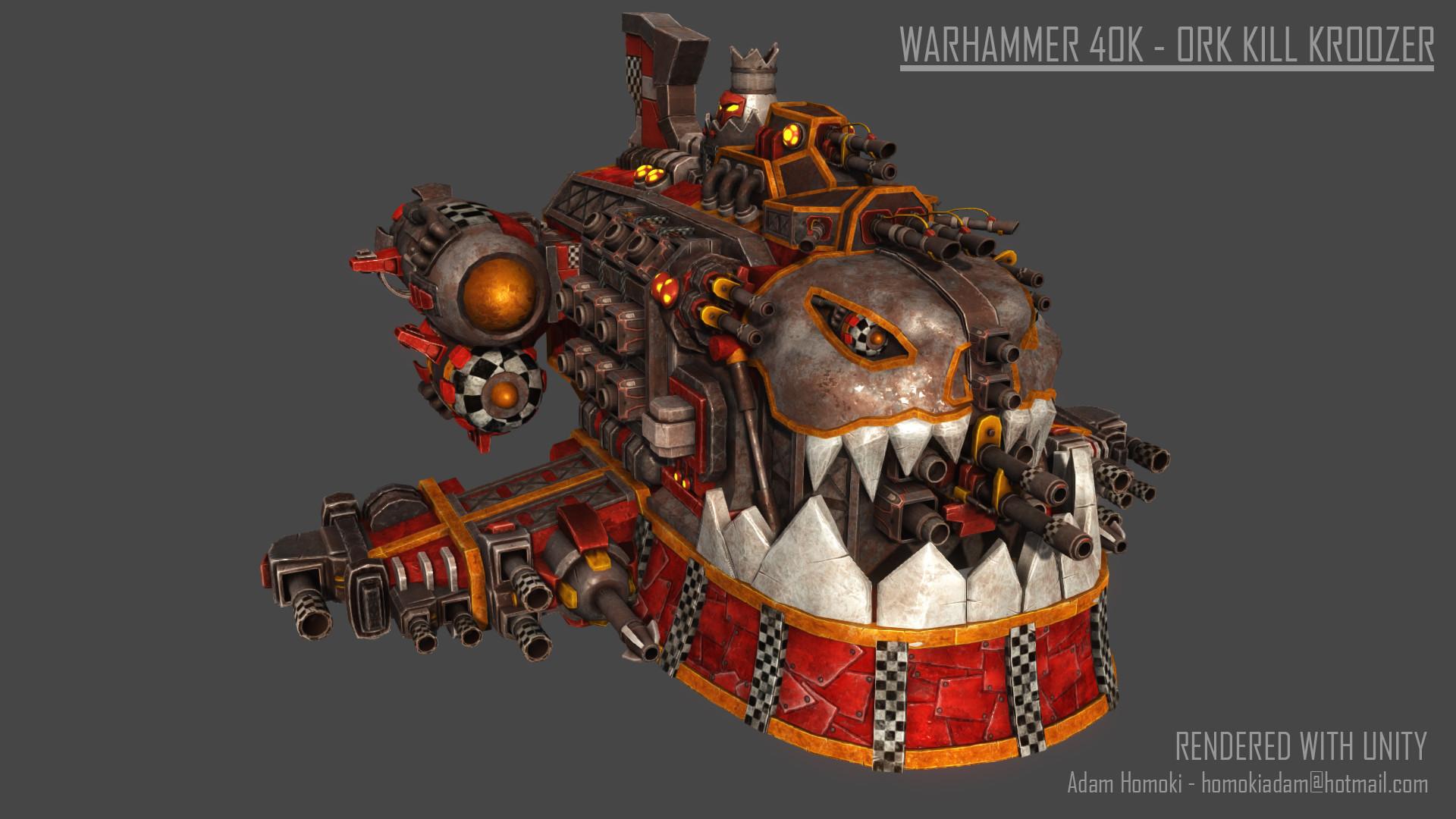 Warhammer 40K – Ork Kill Kroozer