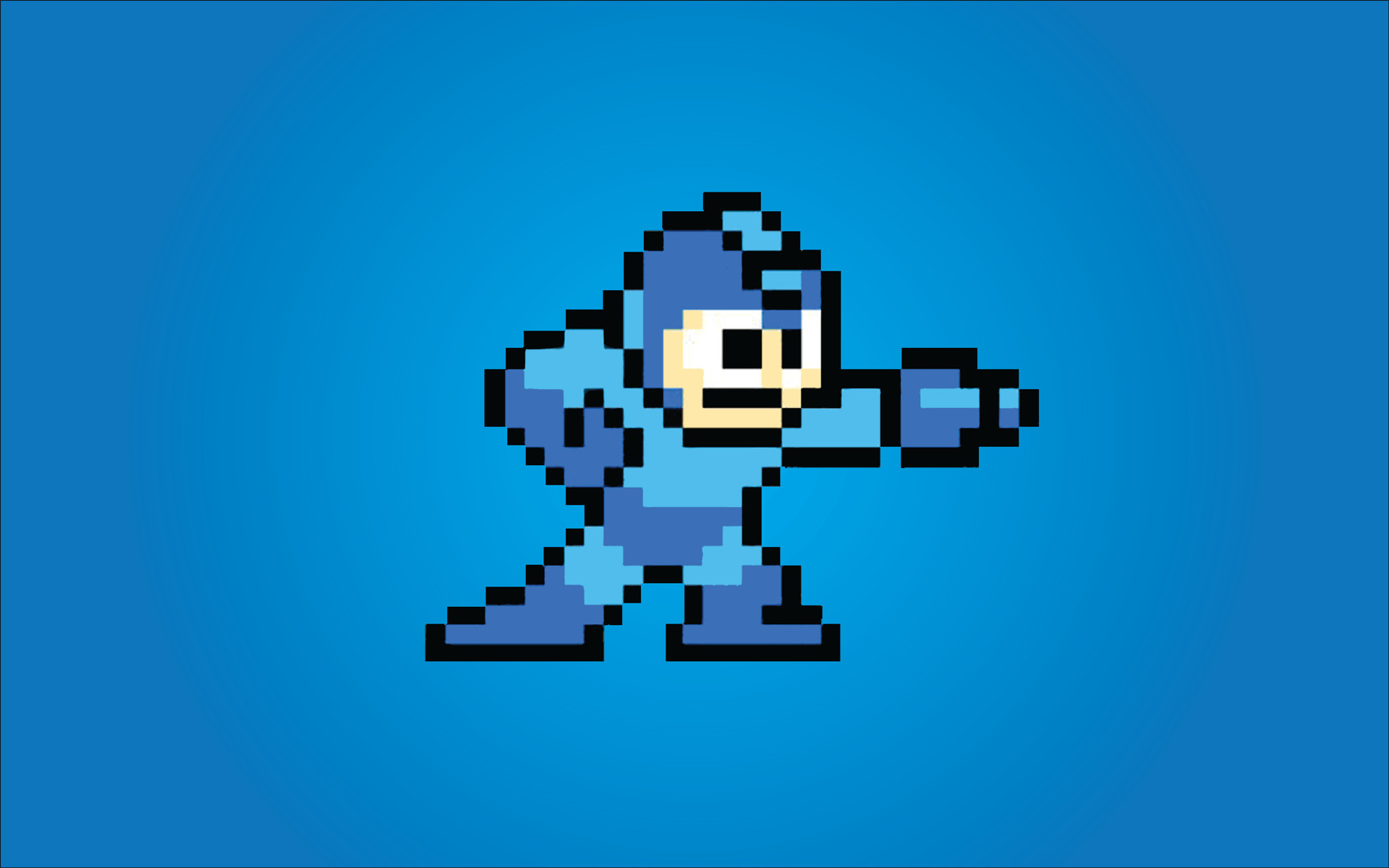 Megaman Background in Games – Wugange.