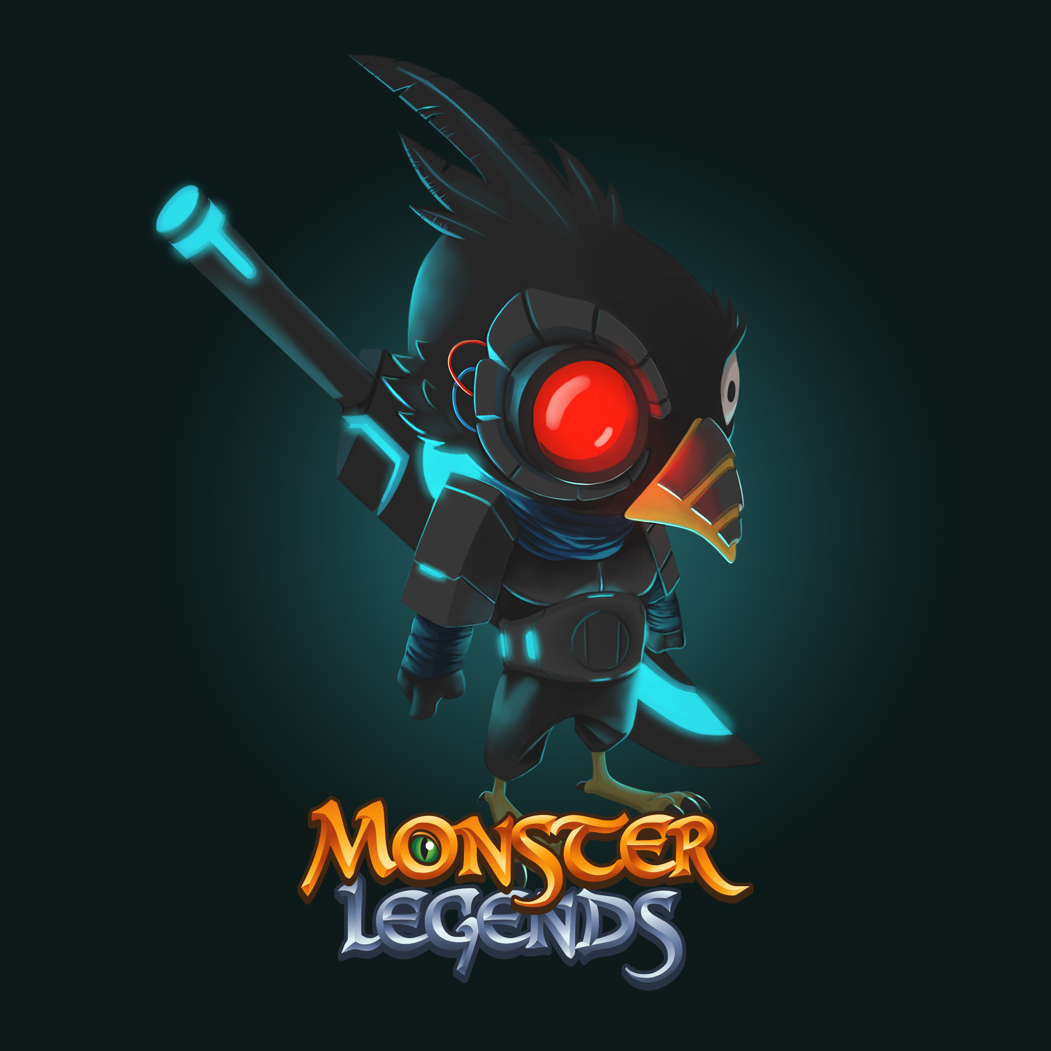 Monster Legends Android, iPhone, iPad Wallpaper