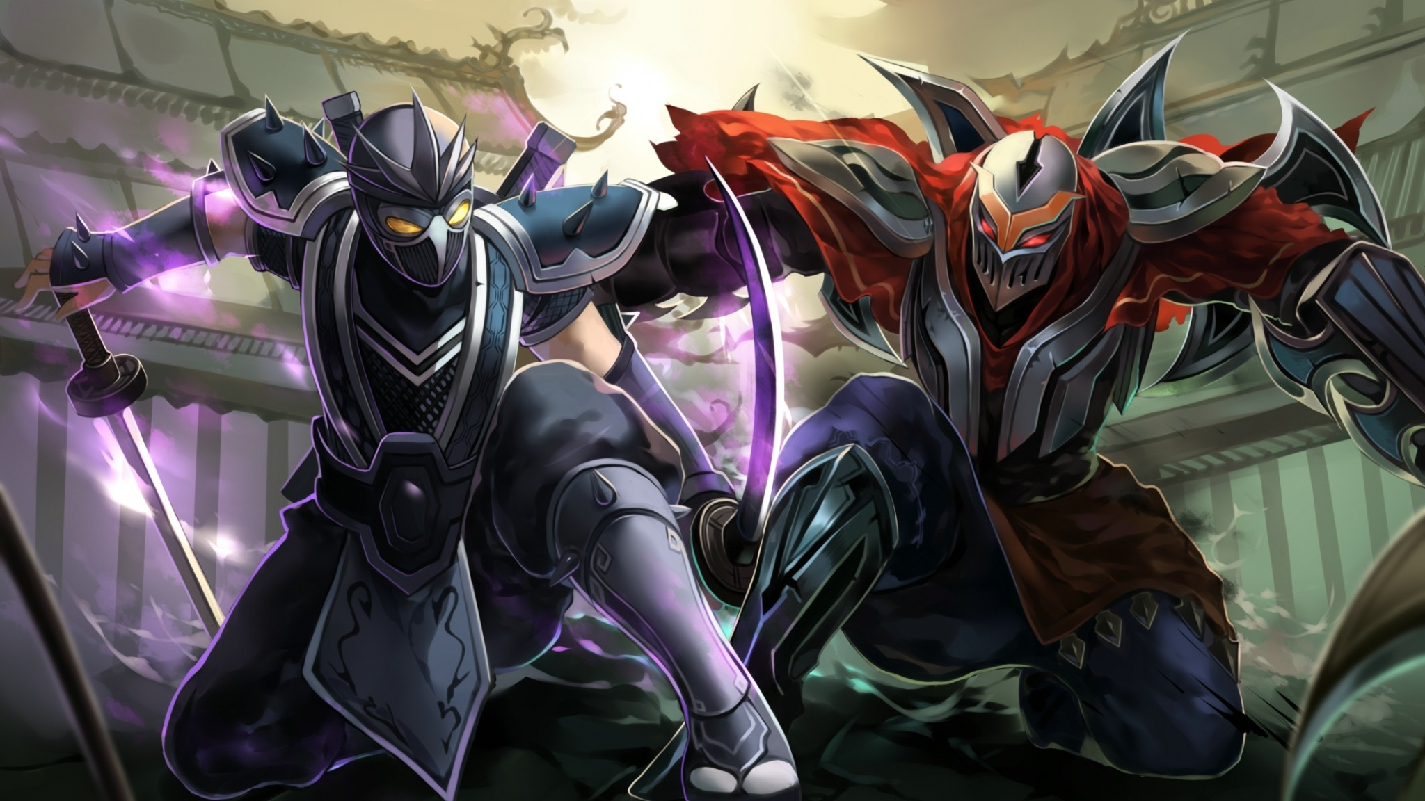 Preview wallpaper league of legends, battle, fantasy, arena, legend, magic,