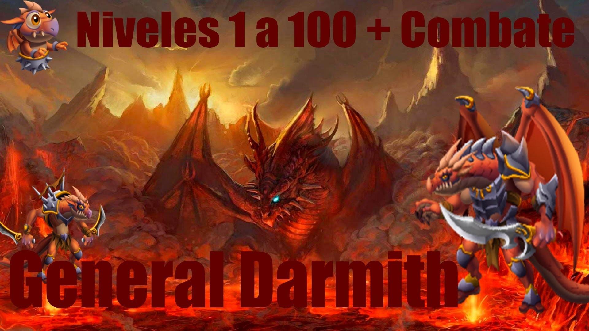General Darmith 1 al 100 + Combate | Monster Legends
