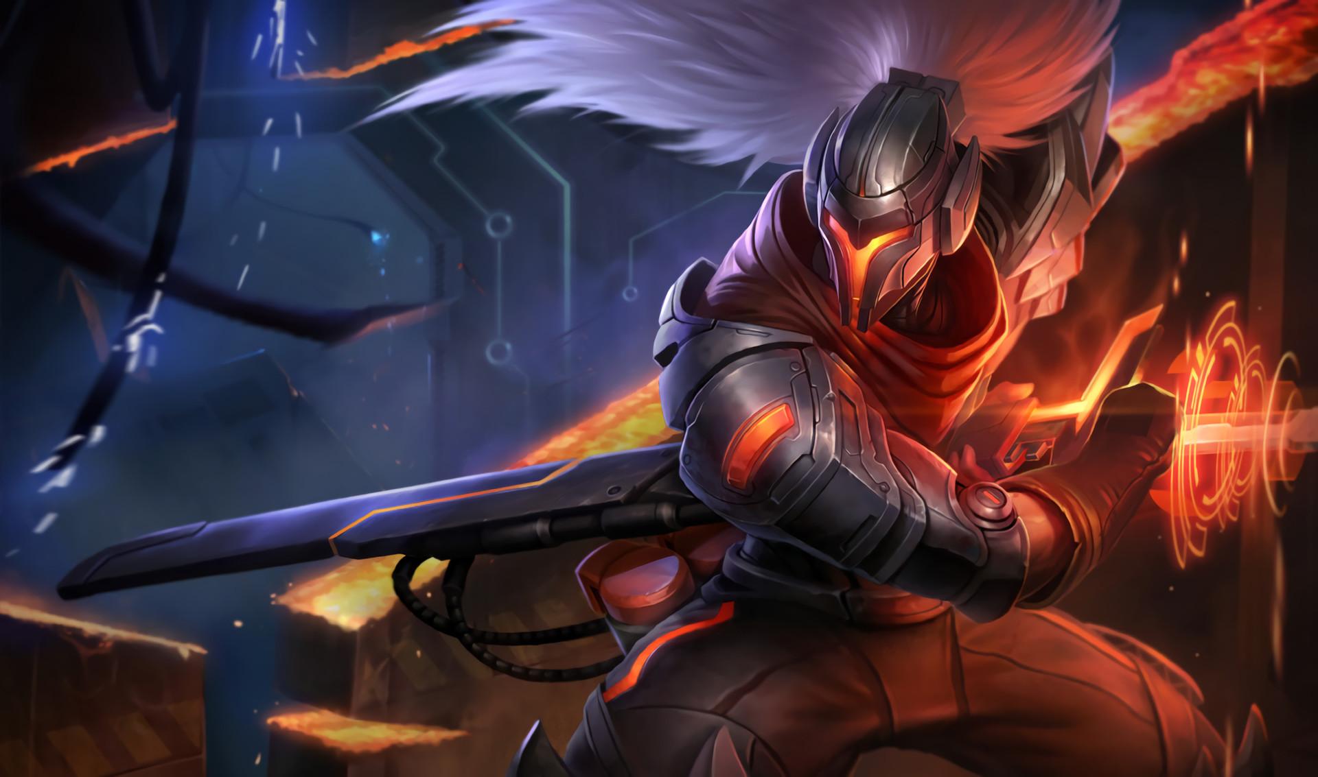 Video Game League Of Legends Yasuo (League Of Legends) Sword Wallpaper