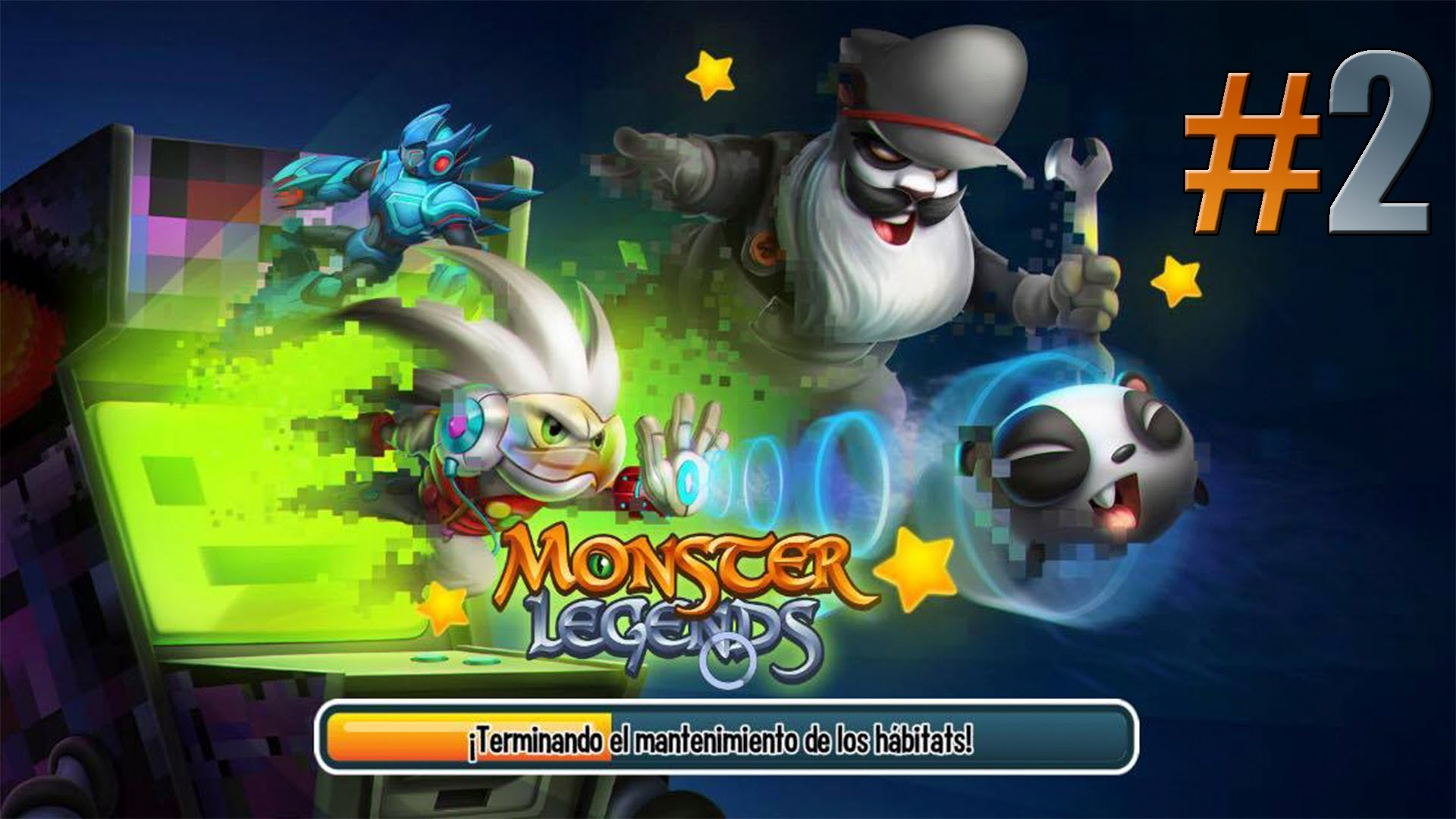 Monster Legends l Laberinto VIdeojuegos l 2. Hedgy
