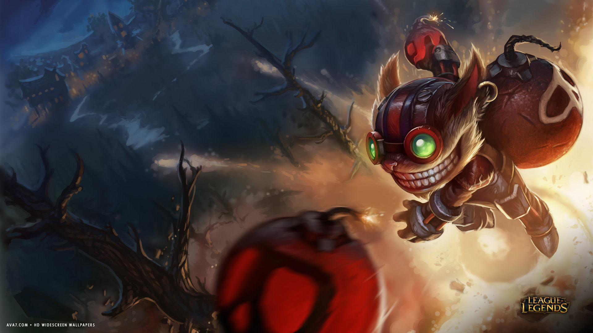 … monster wings; league of legends game lol ziggs bomb