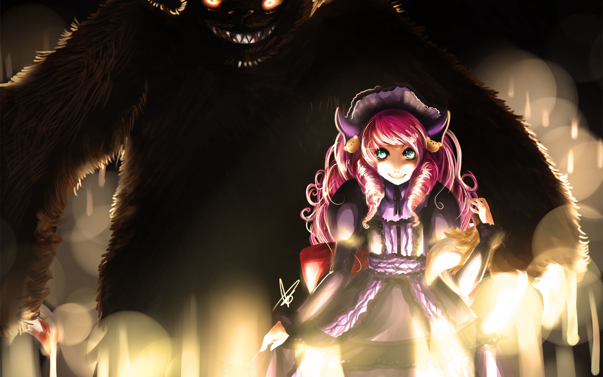 League of Legends Drawing fantasy monster girl wallpaper | |  52142 | WallpaperUP