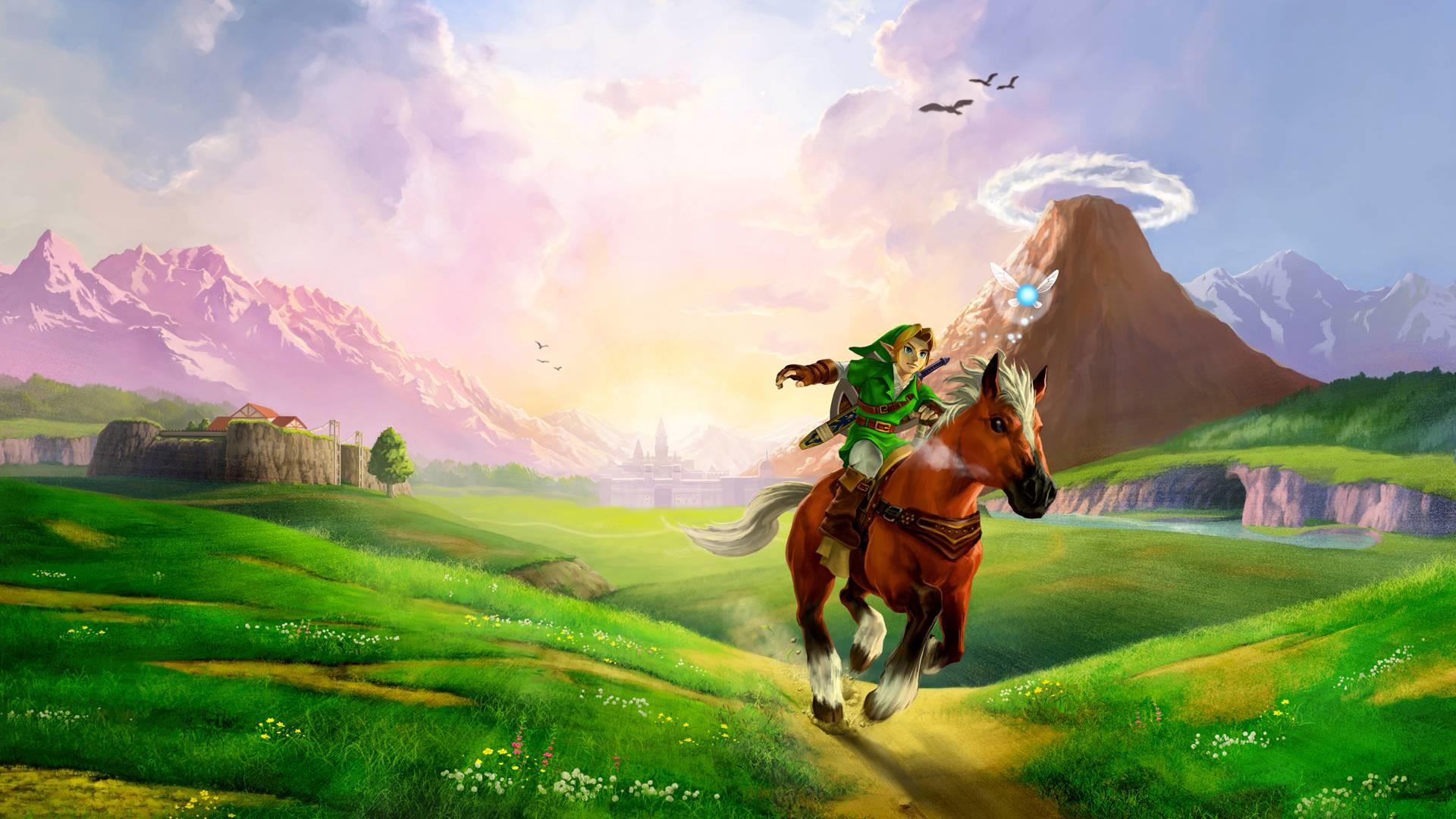 Wallpapers For > Legend Of Zelda Wallpaper 1920×1080