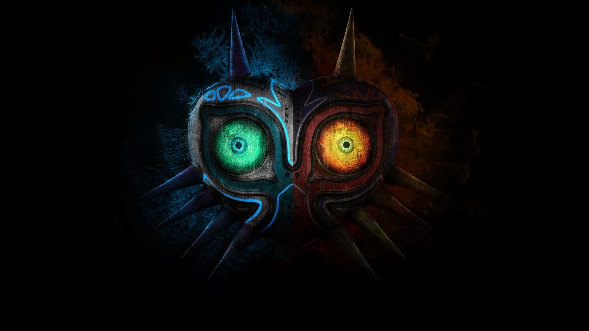 Zelda Majora Mask HD Wallpaper Desktop The Legend