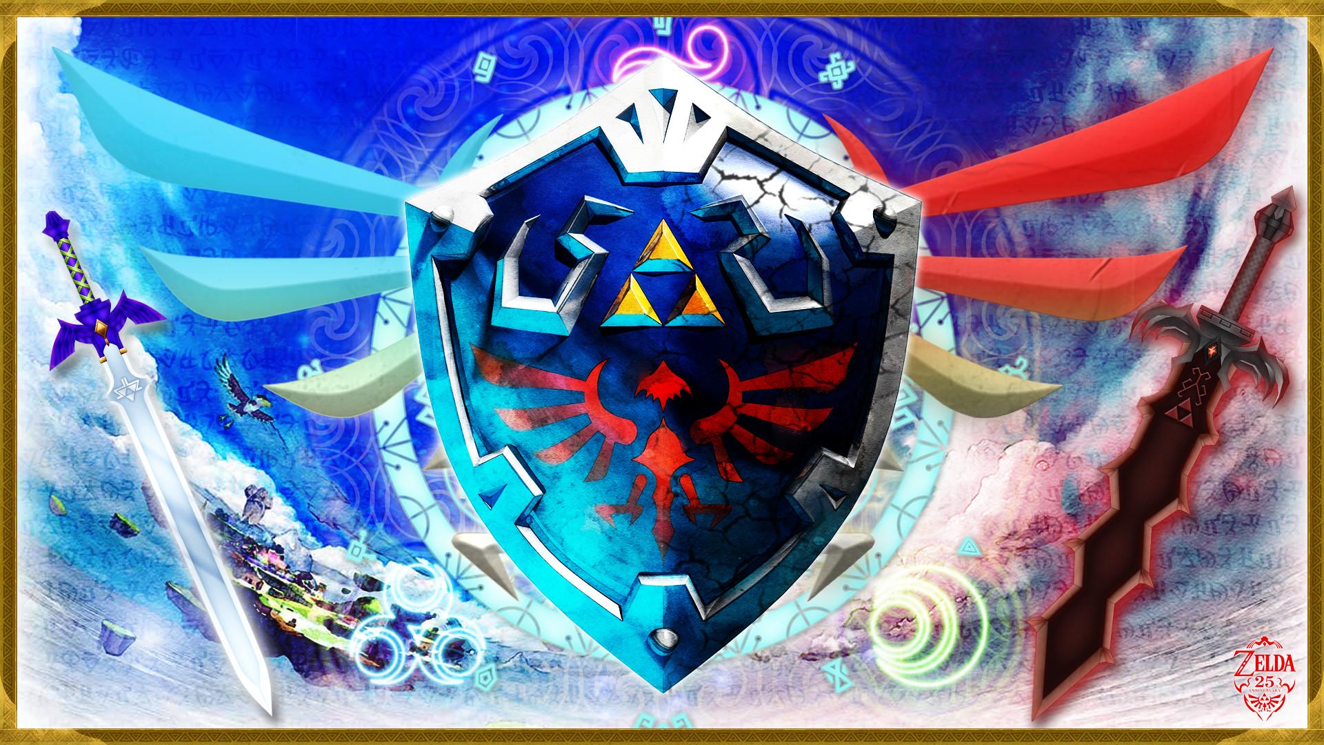 Video Game – The Legend Of Zelda: Skyward Sword Link Zelda Shield Hylian  Wallpaper