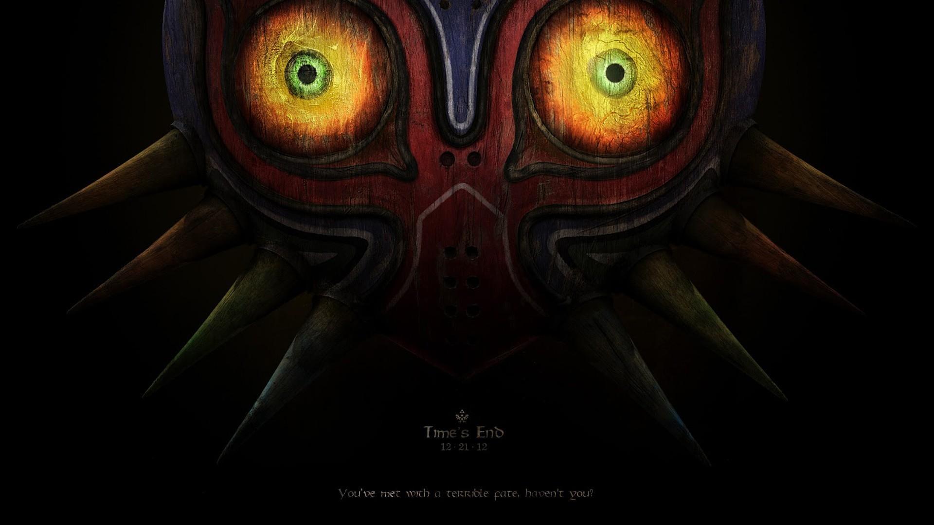 Majora's Mask – The Legend of Zelda HD Wallpaper 1920×1080