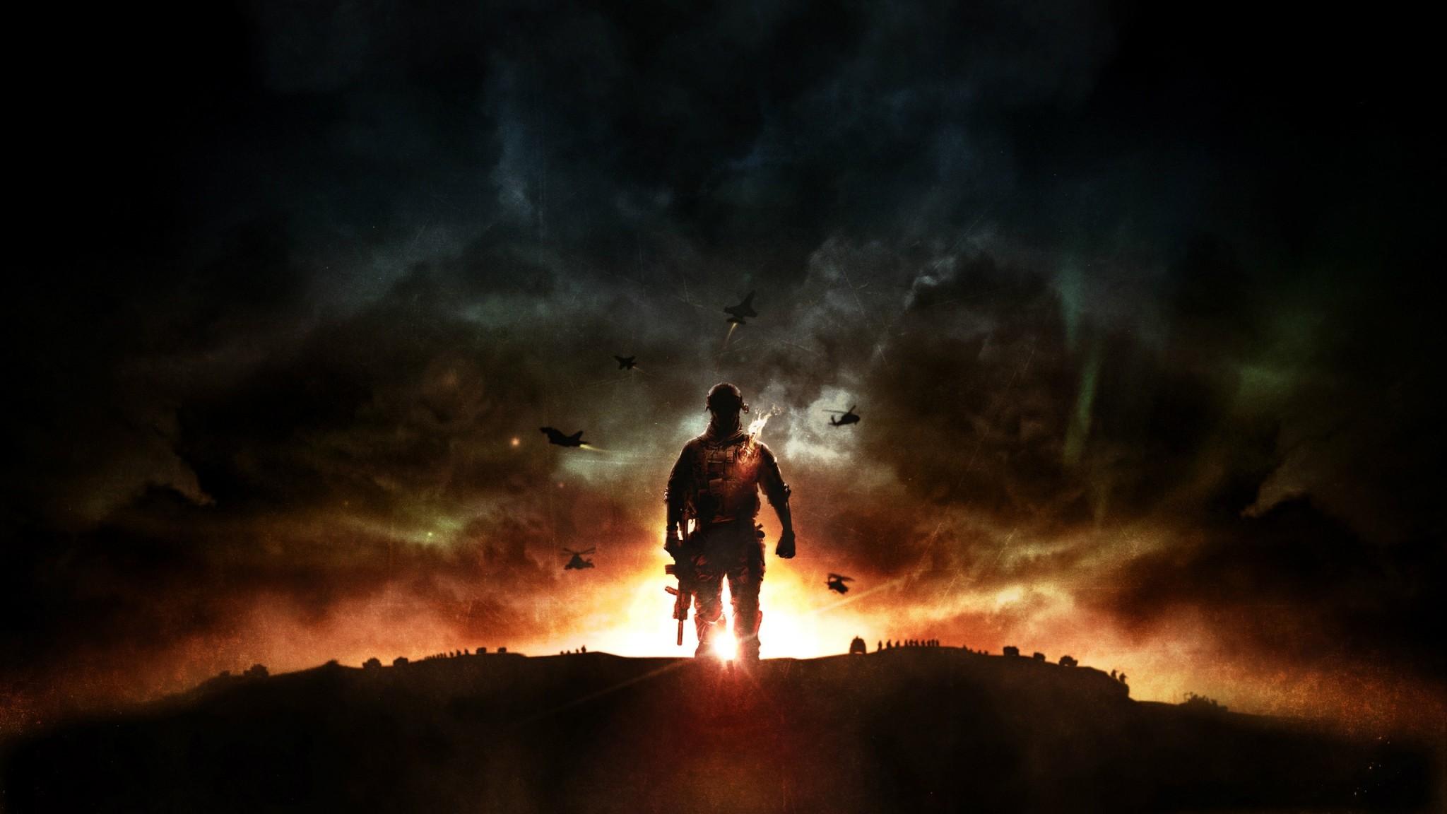 Preview wallpaper battlefield 4, game, explosion, ea digital illusions ce  2048×1152