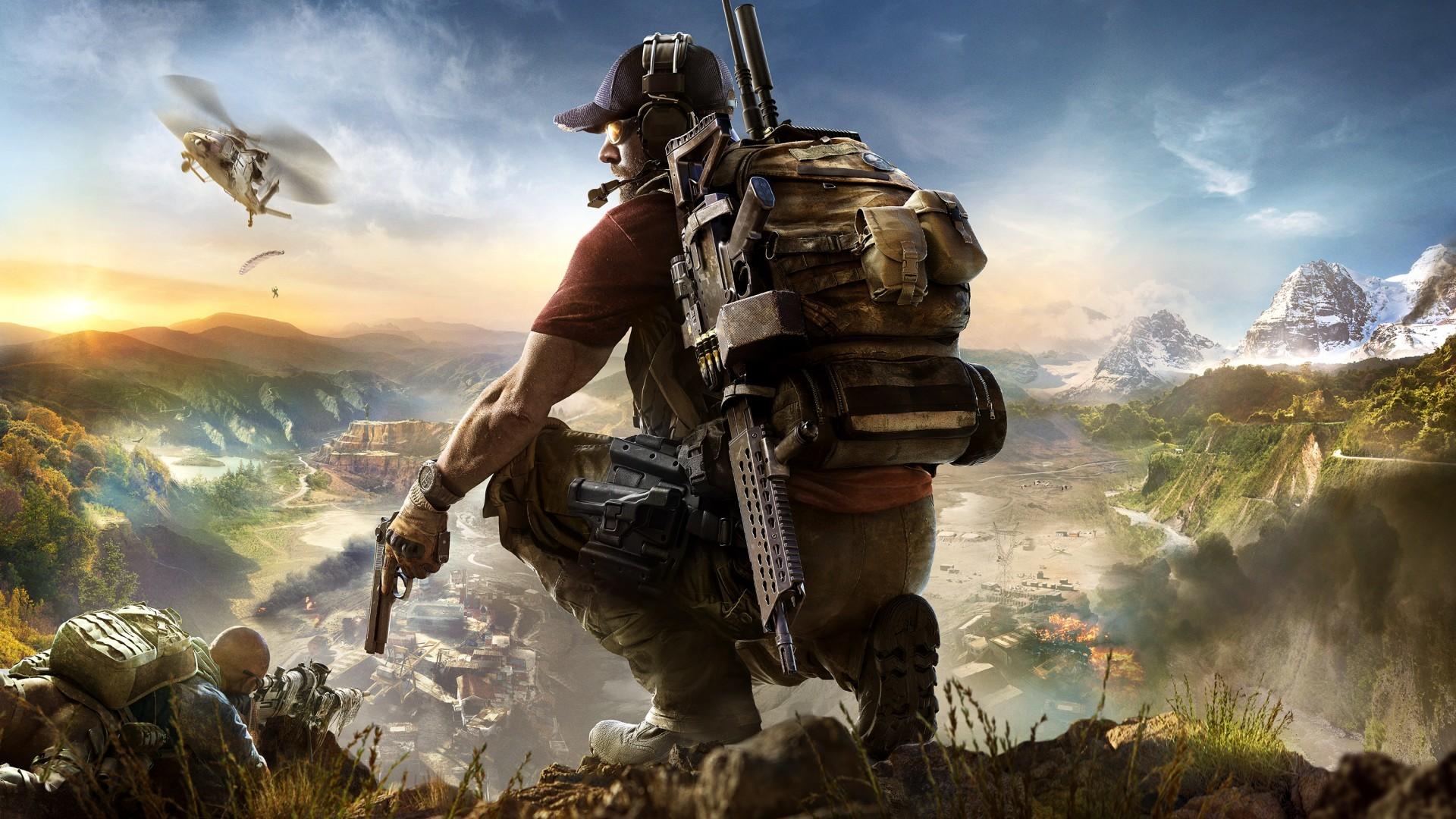 Wallpaper 2017 Games, HD, Tom Clancy's, Ghost Recon Wildlands, Games, #1333