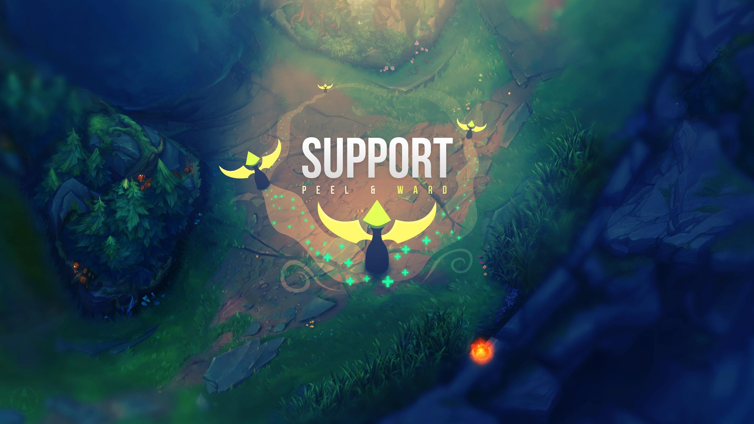 Support Wallpaper + album – League of Legends by Aynoe on DeviantArt