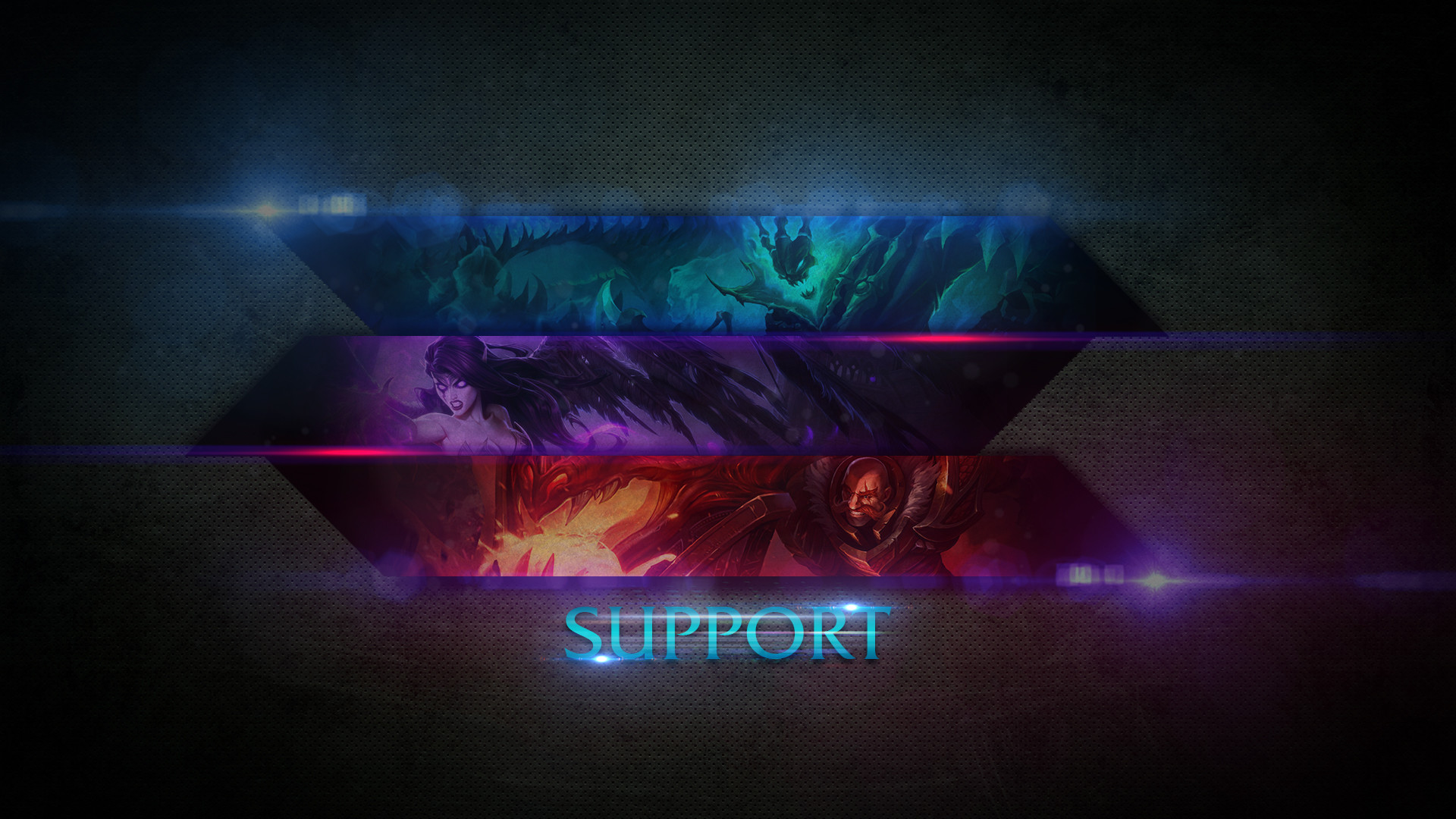 League Of Legends Support Wallpaper by ComaniciRobert League Of Legends  Support Wallpaper by ComaniciRobert