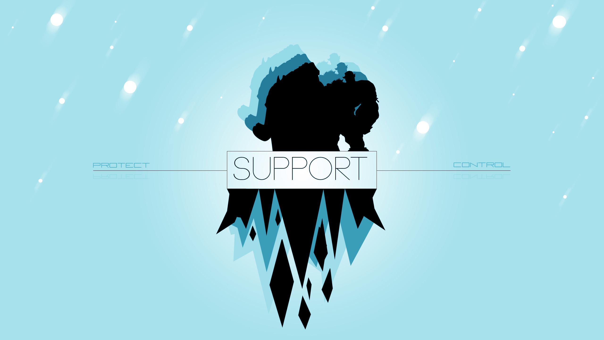 Support by Aynoe (2) HD Wallpaper Fan Art Artwork League of Legends lol