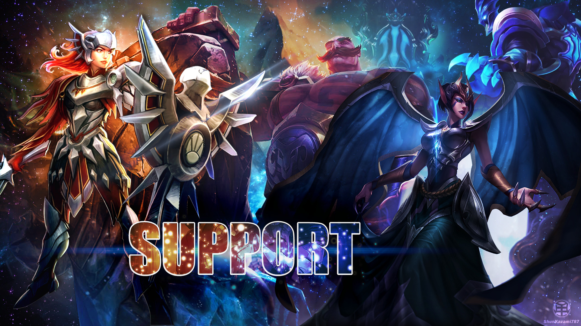 … Support – League of Legends WALL by ShunKazami787