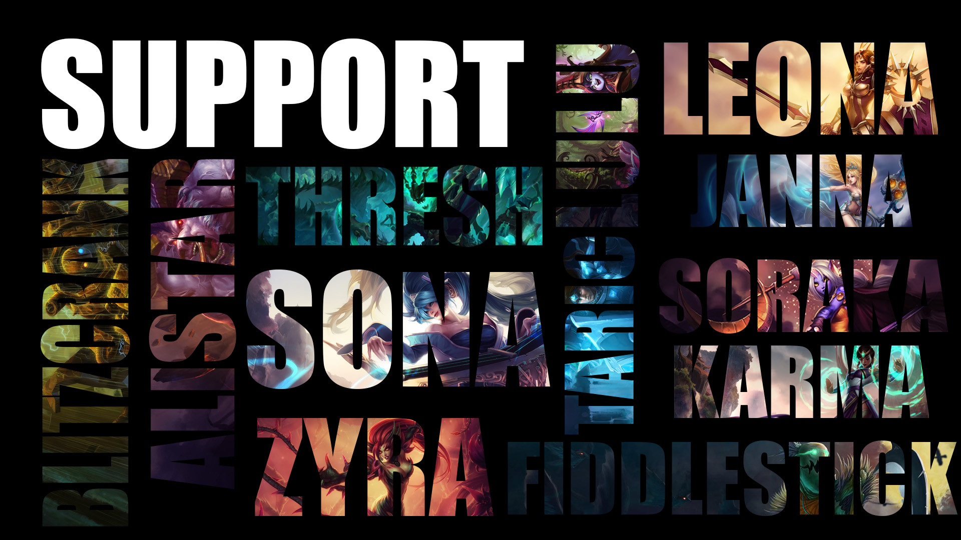Supporter Wallpaper by laynz