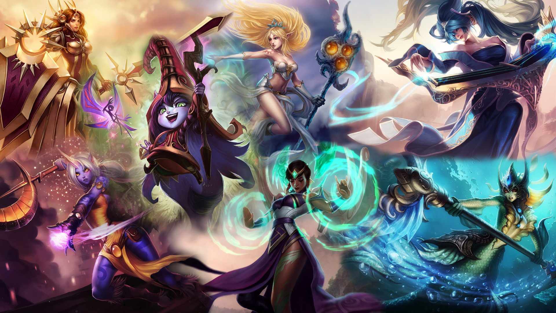… League of Female Support Power! by DioHard
