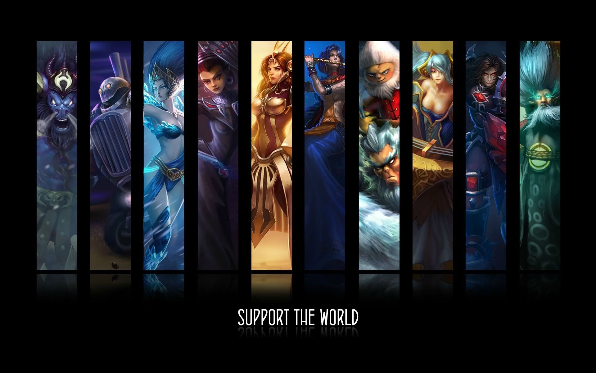 League Of Legends Support HD Support Wallpaper League