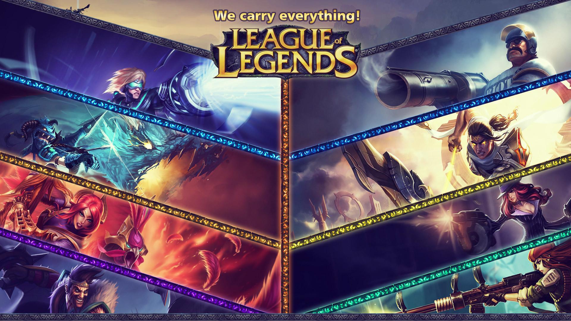 League Of Legends Carries wallpaper · «