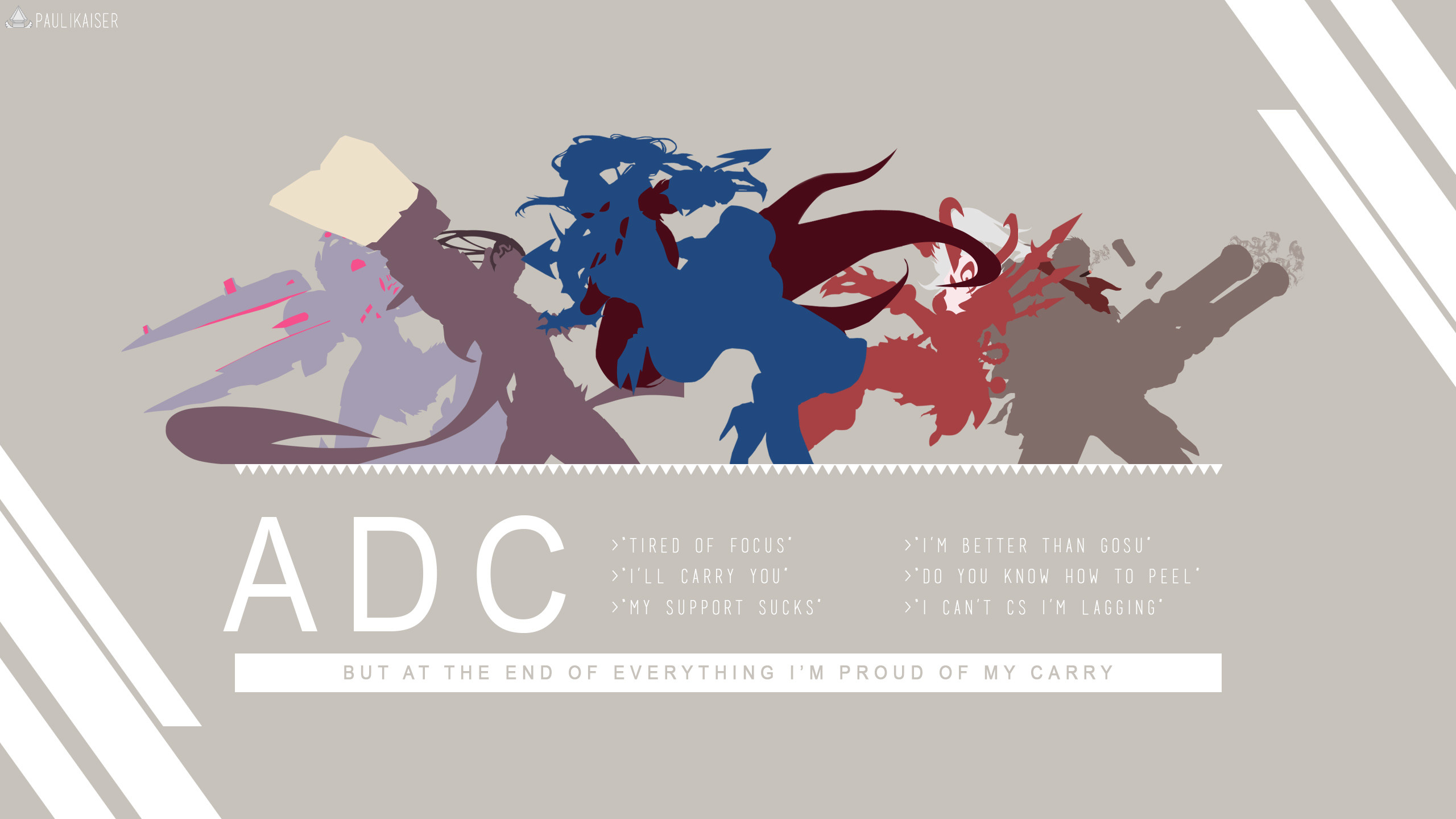 ADC by Paulikaiser (4) HD Wallpaper Fan Art Artwork League of Legends lol