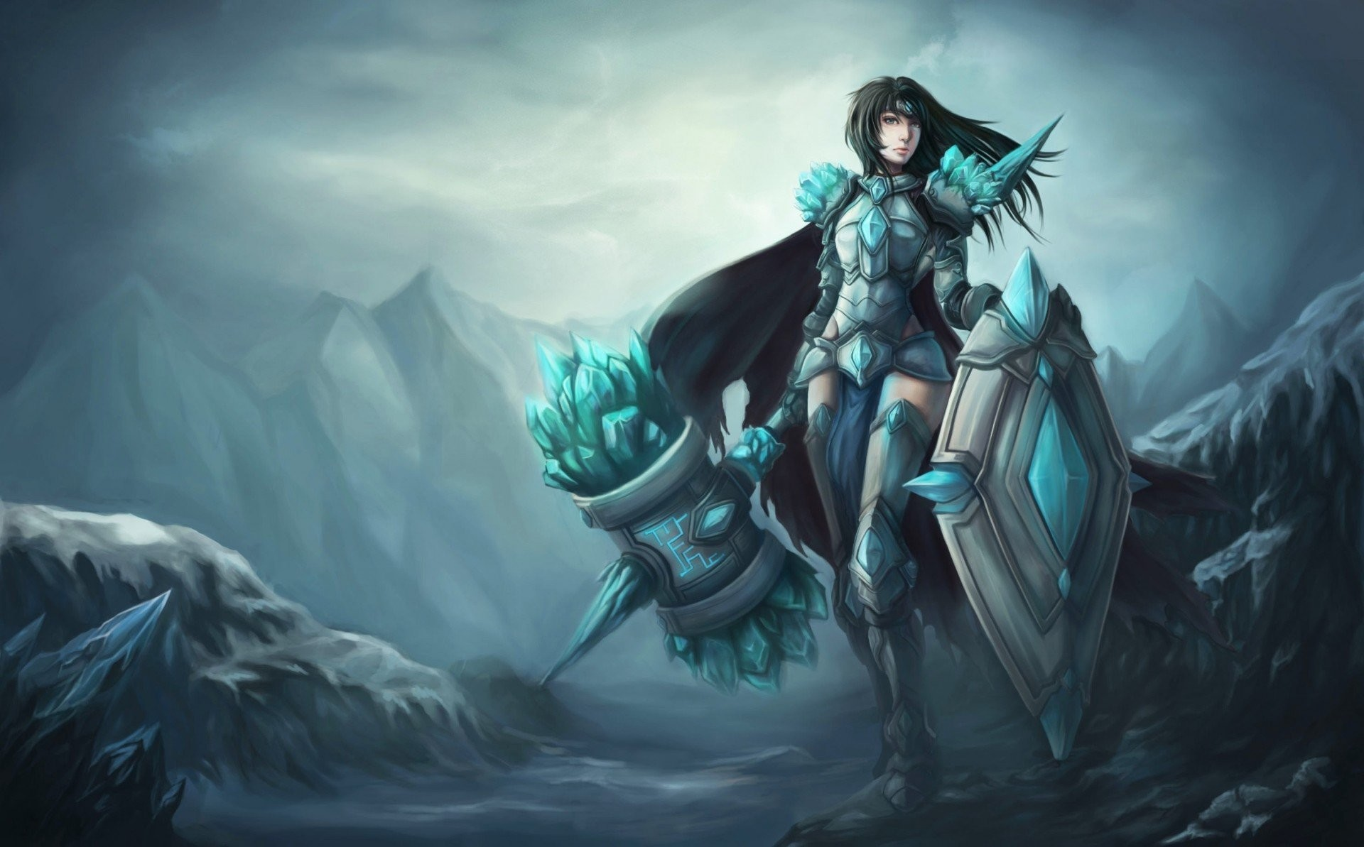 support league of legends a woman lol taric