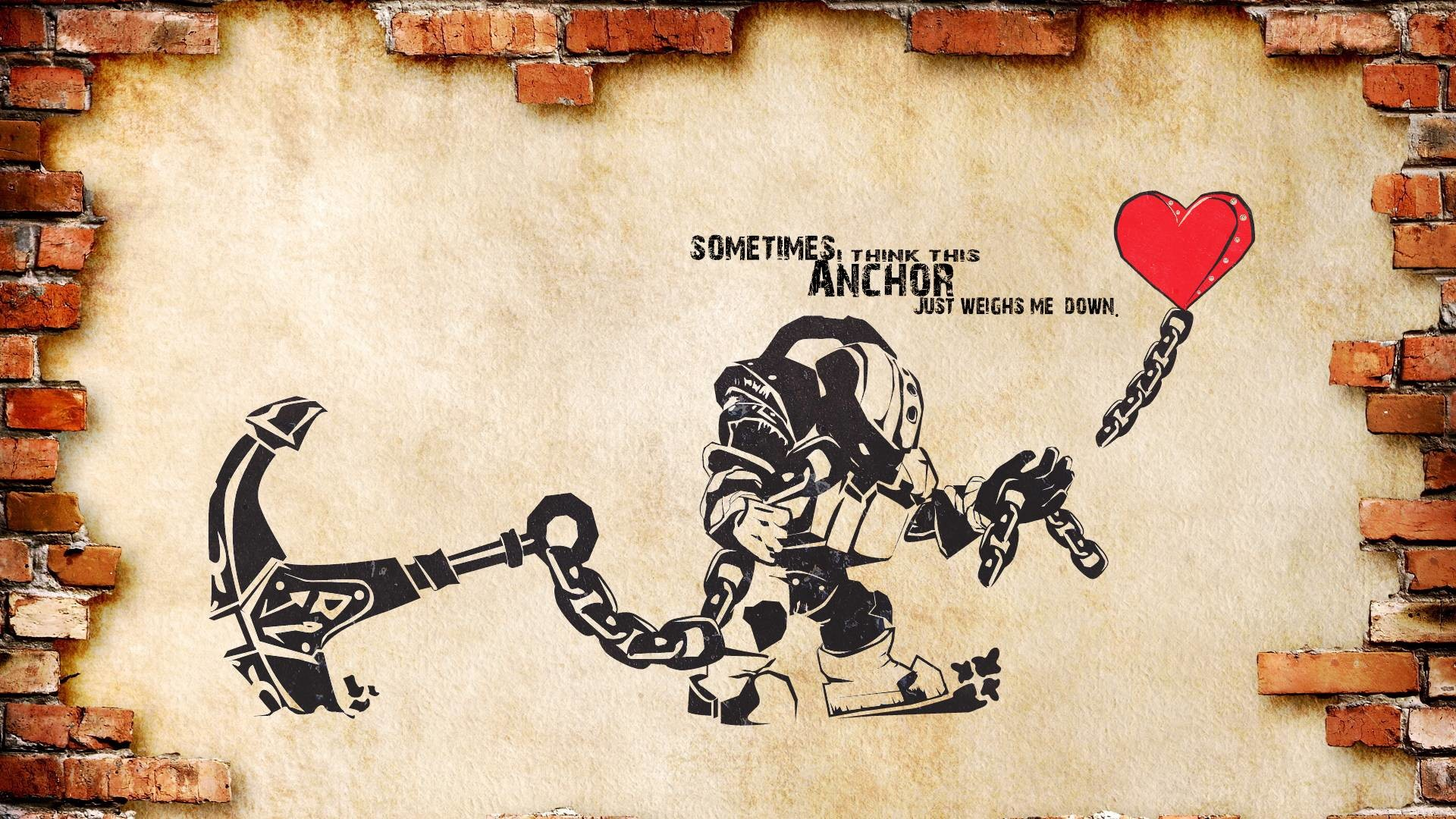 [HD ART] League Wallpapers (Singed/Nautilus): Banksy Style! – League of  Legends Community
