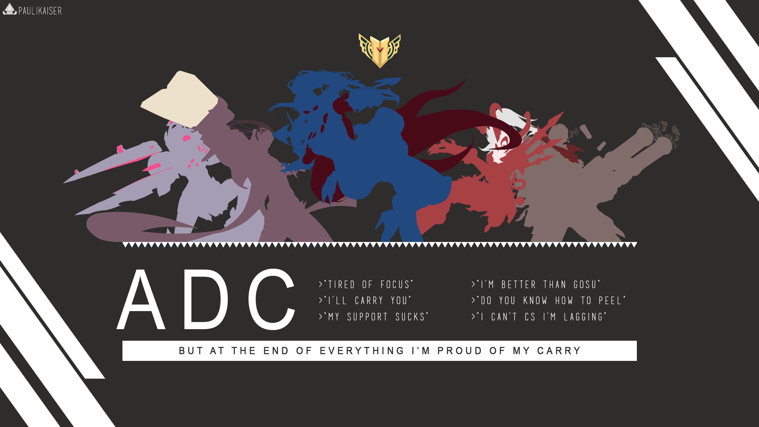 ADC by Paulikaiser (2) HD Wallpaper Fan Art Artwork League of Legends lol